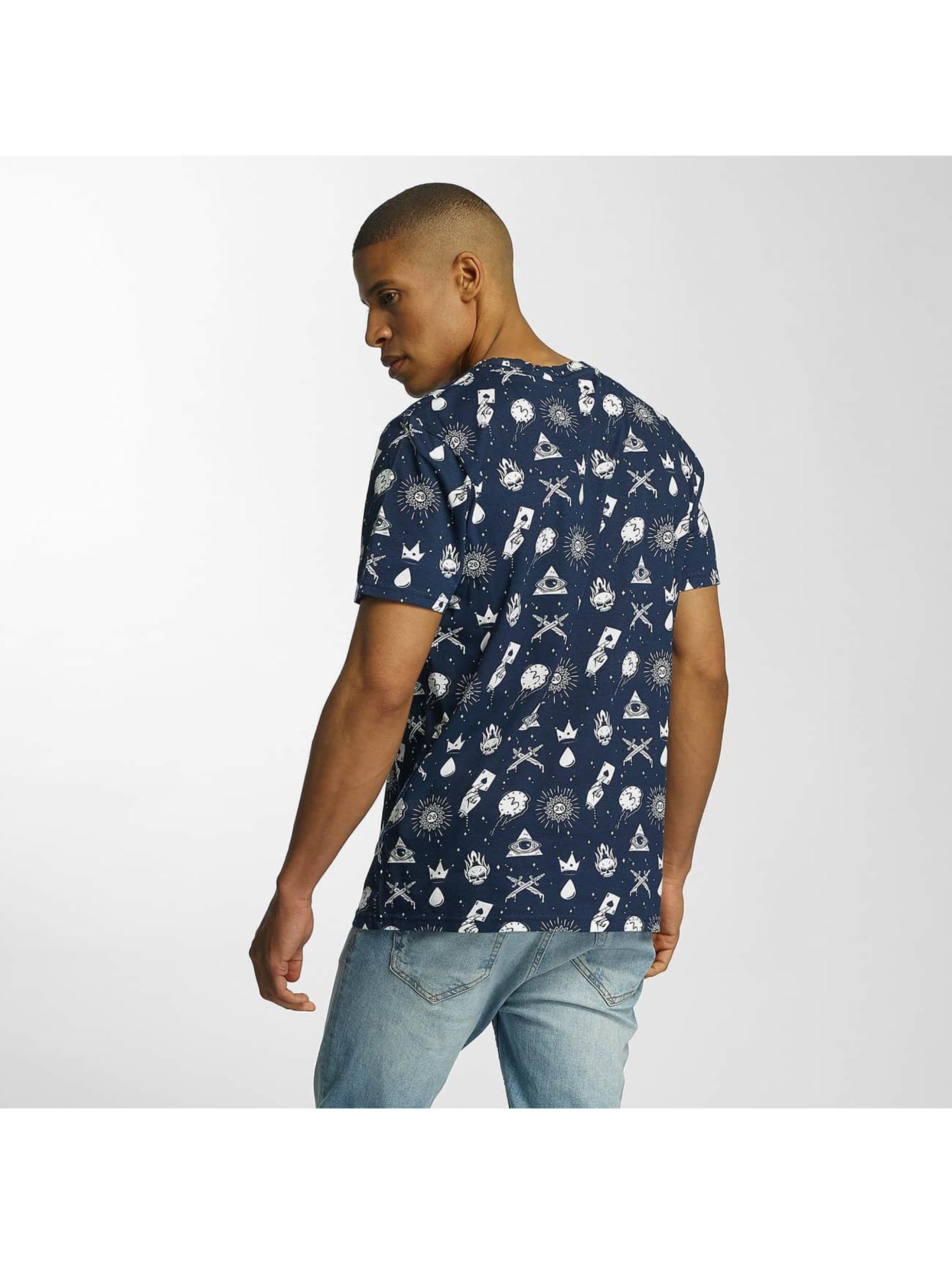 Brave Soul T-Shirt All Over Print blue