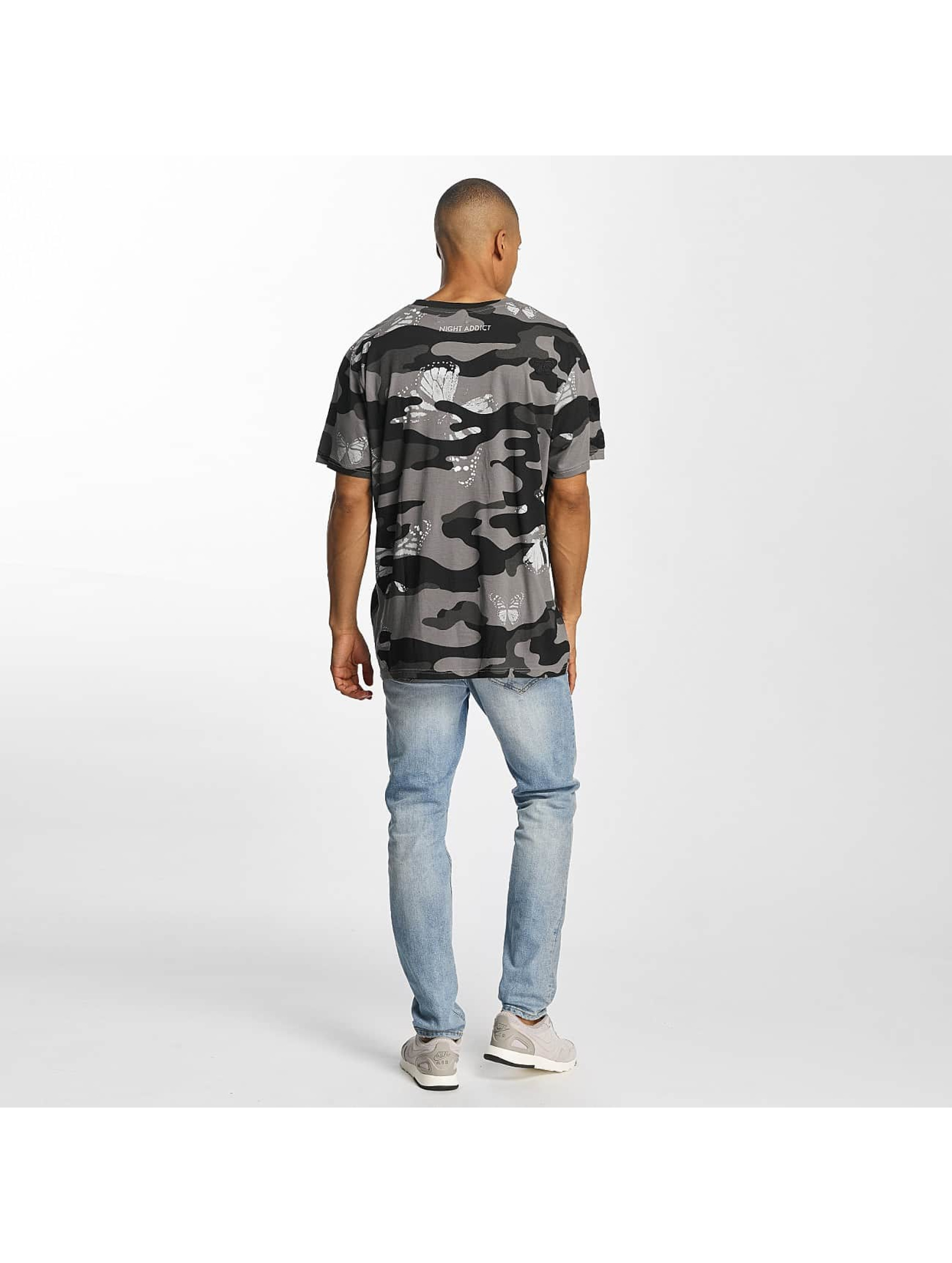 Brave Soul T-Shirt Soft Printed All Over camouflage