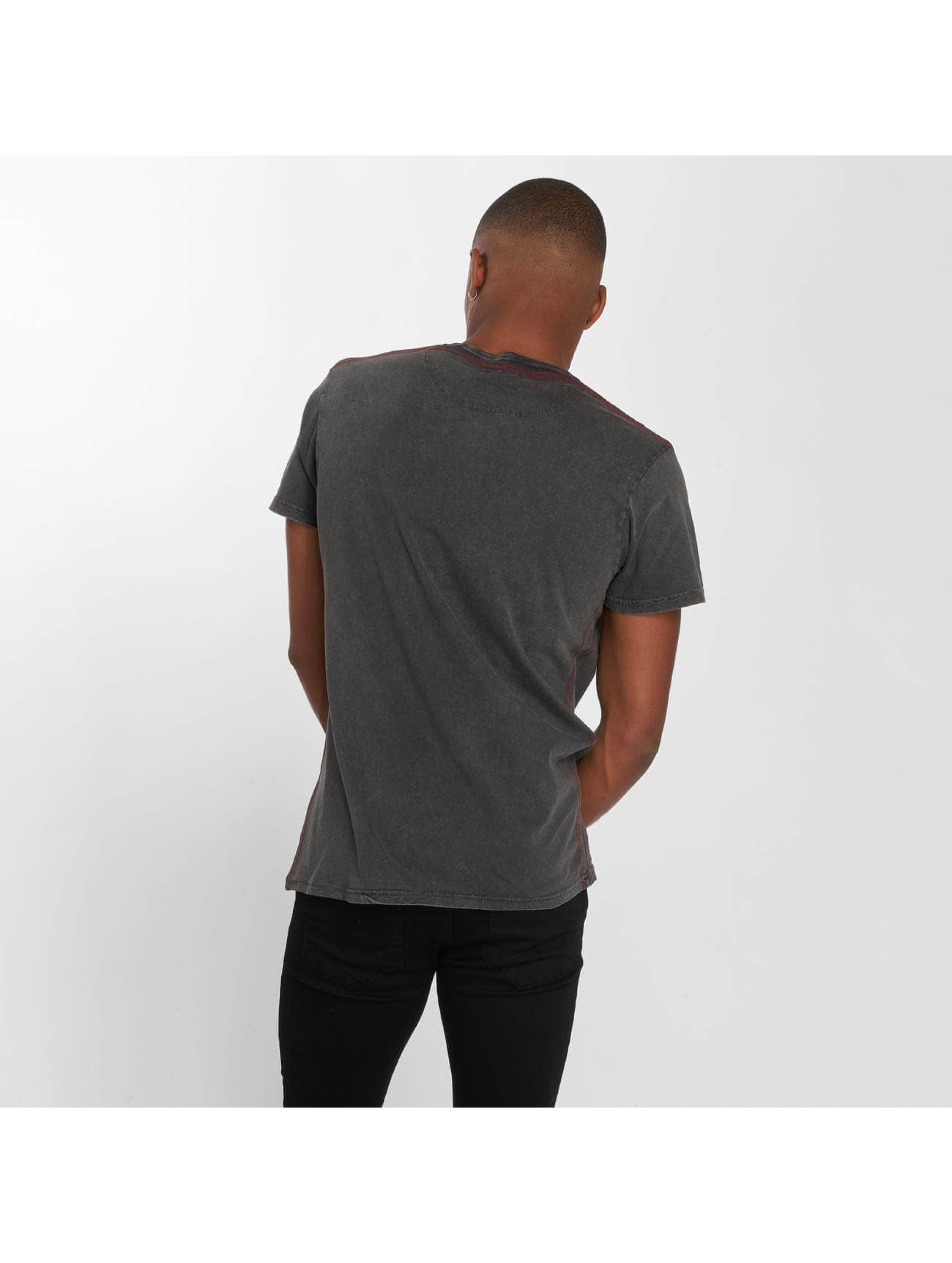 Brave Soul T-Shirt Soul Gig grau