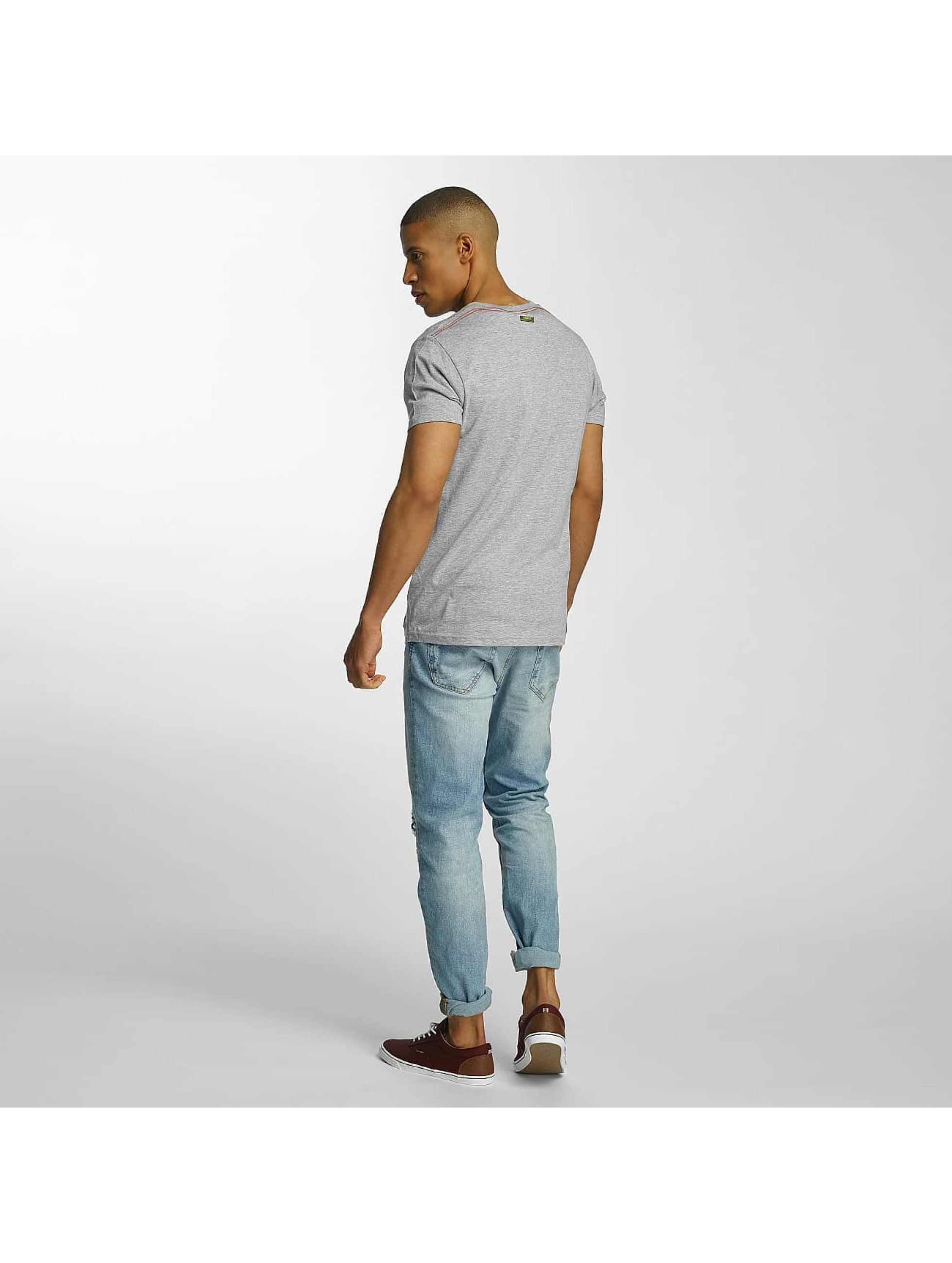 Brave Soul T-Shirt Crew Neck Set gray