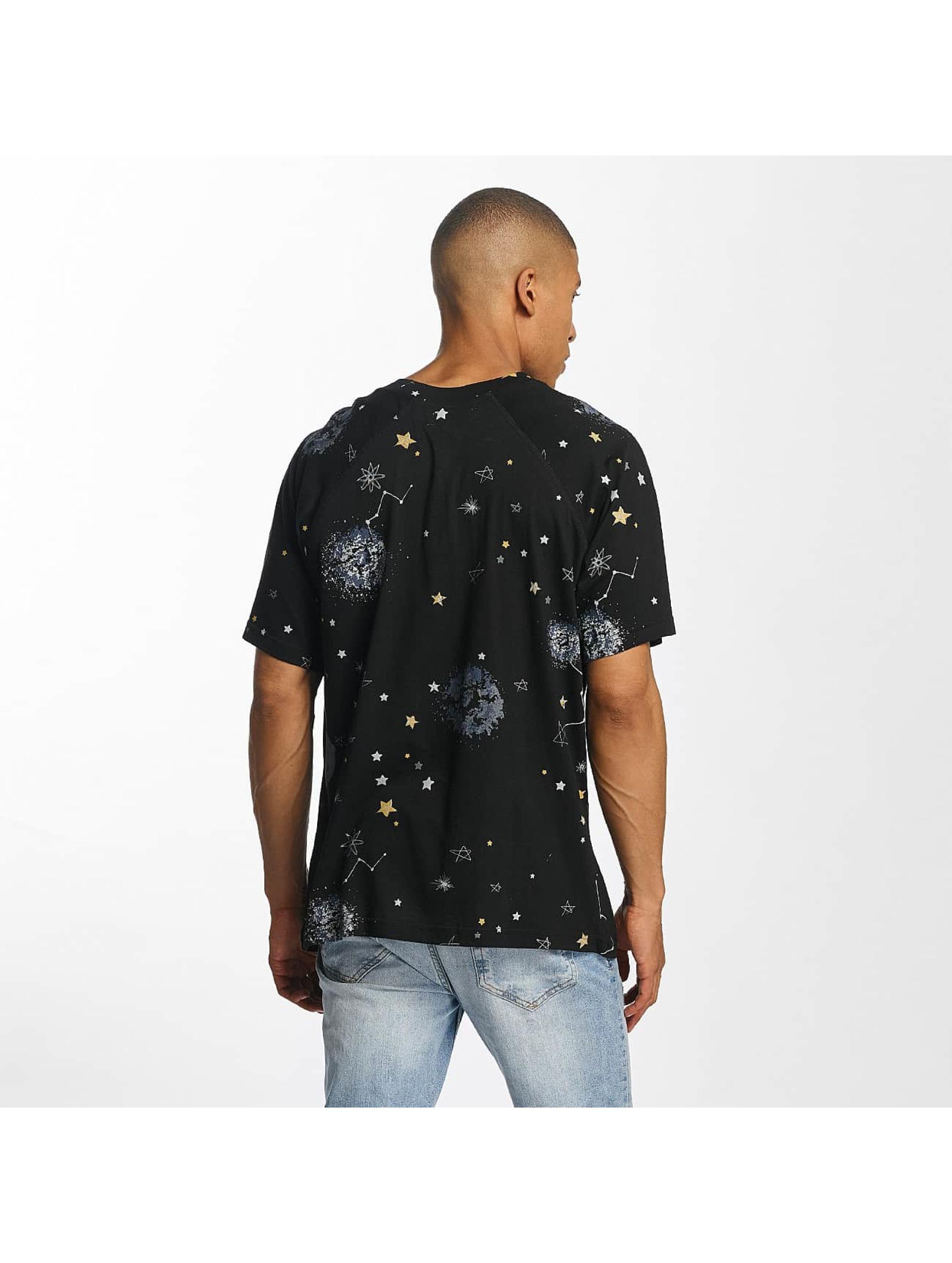 Brave Soul T-Shirt Raglan multicolore