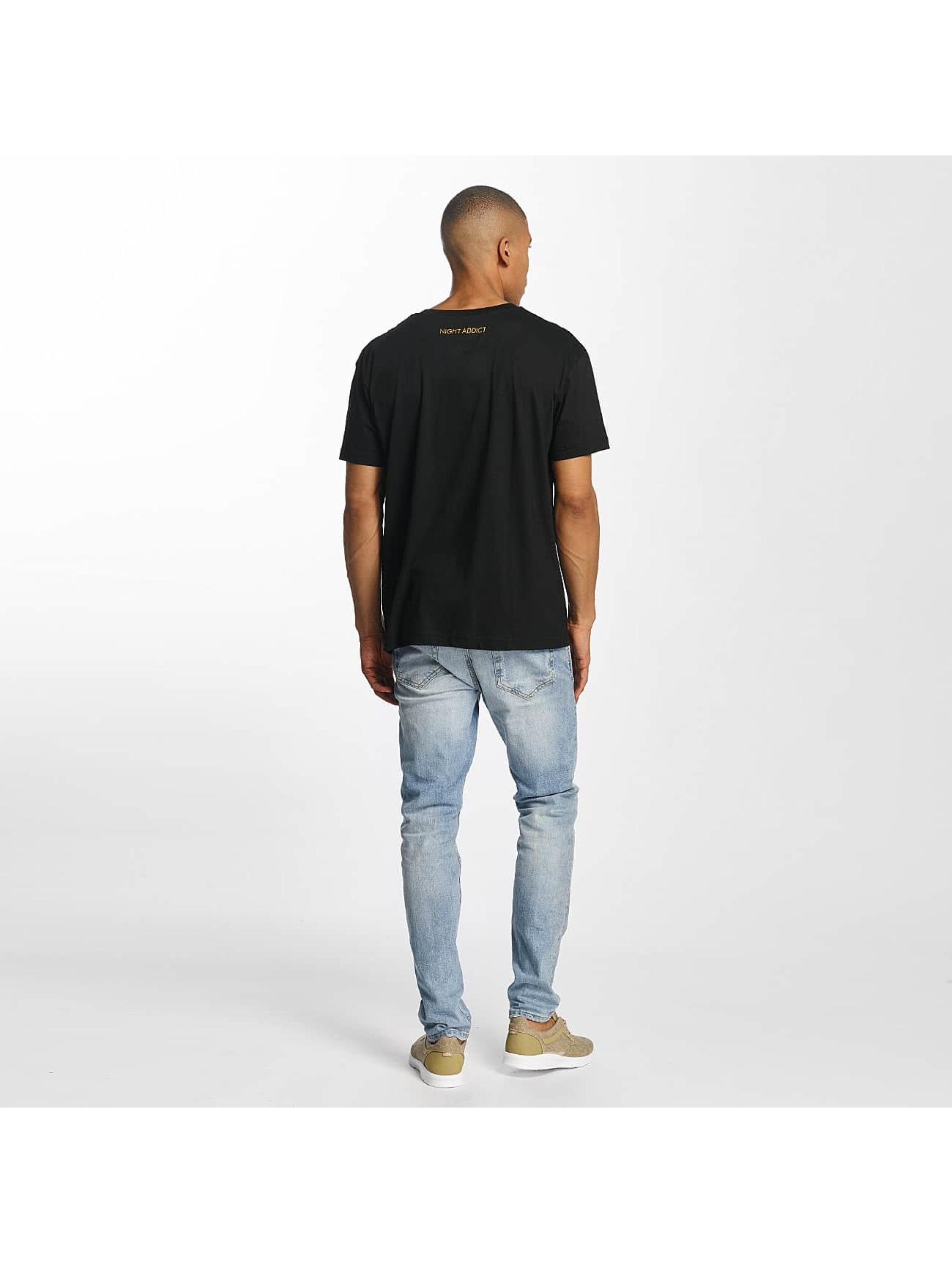 Brave Soul T-Shirt Back noir