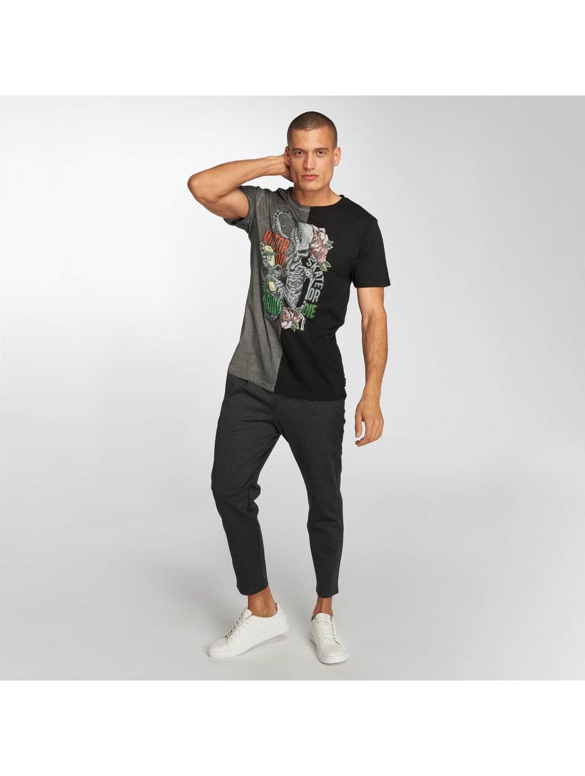Brave Soul T-Shirt Octo schwarz