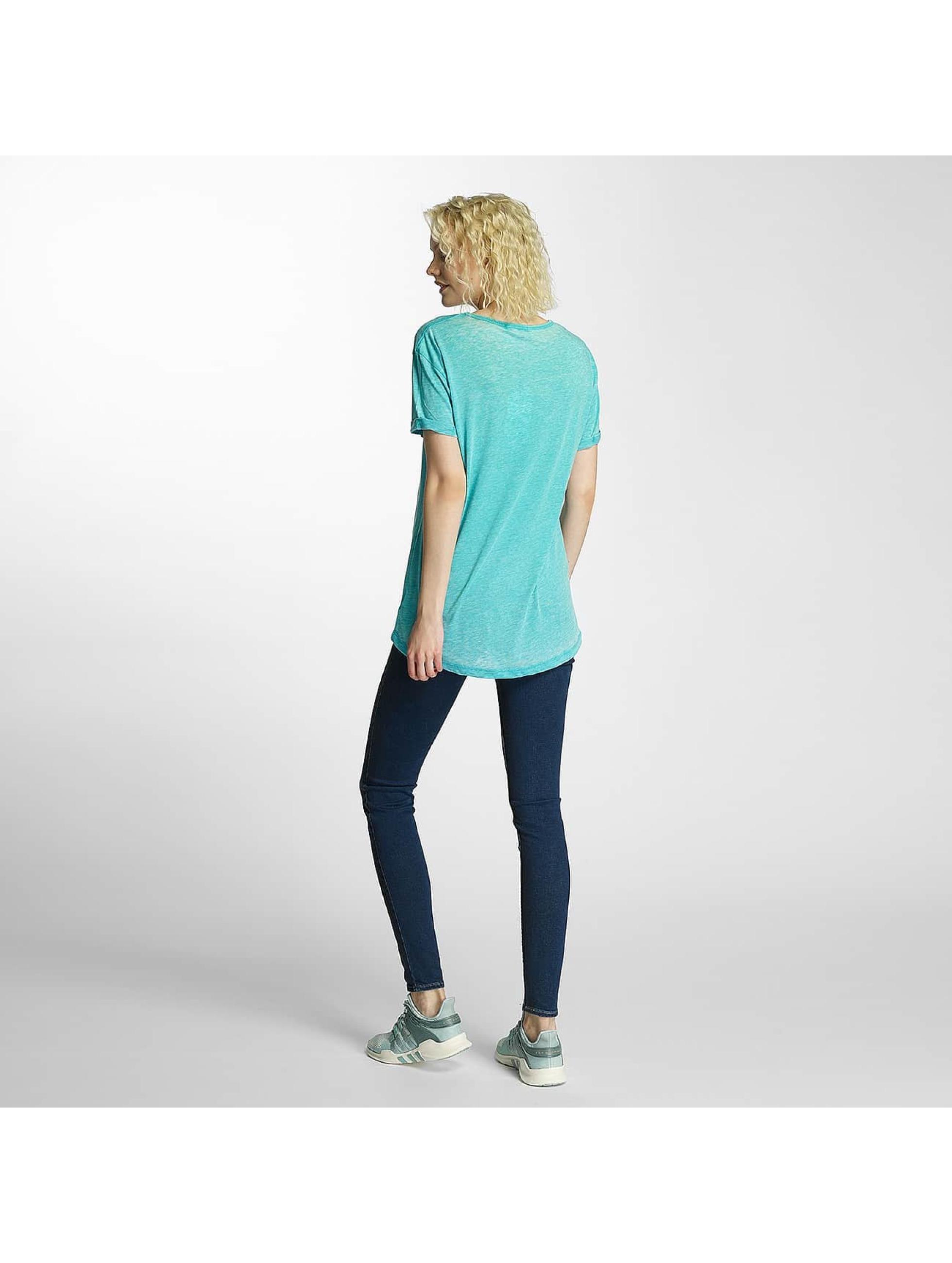 Brave Soul t-shirt Soul Burn Out V-Neck turquois