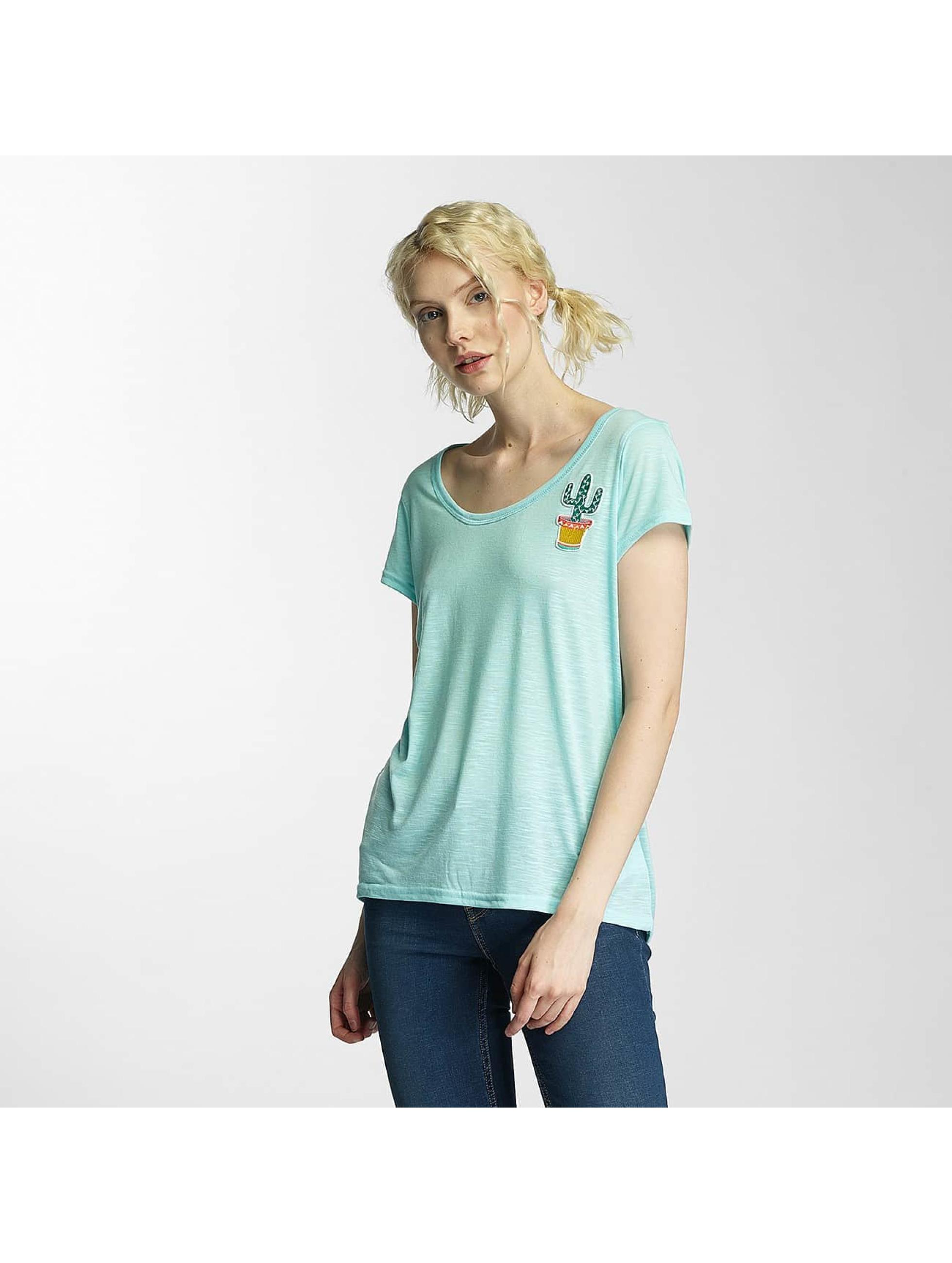 Brave Soul T-shirt Cactus Badge verde