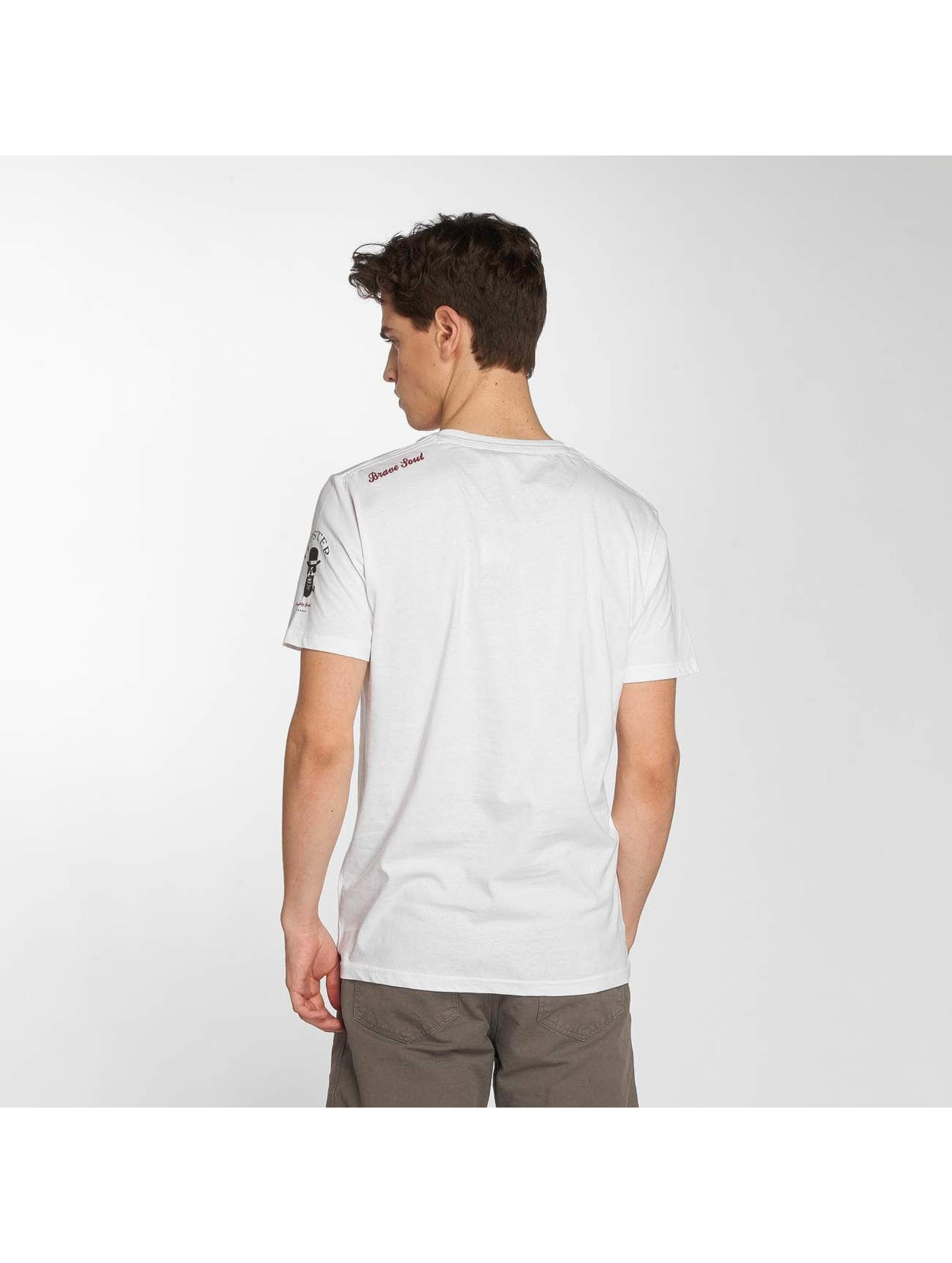 Brave Soul T-Shirt Pogo weiß