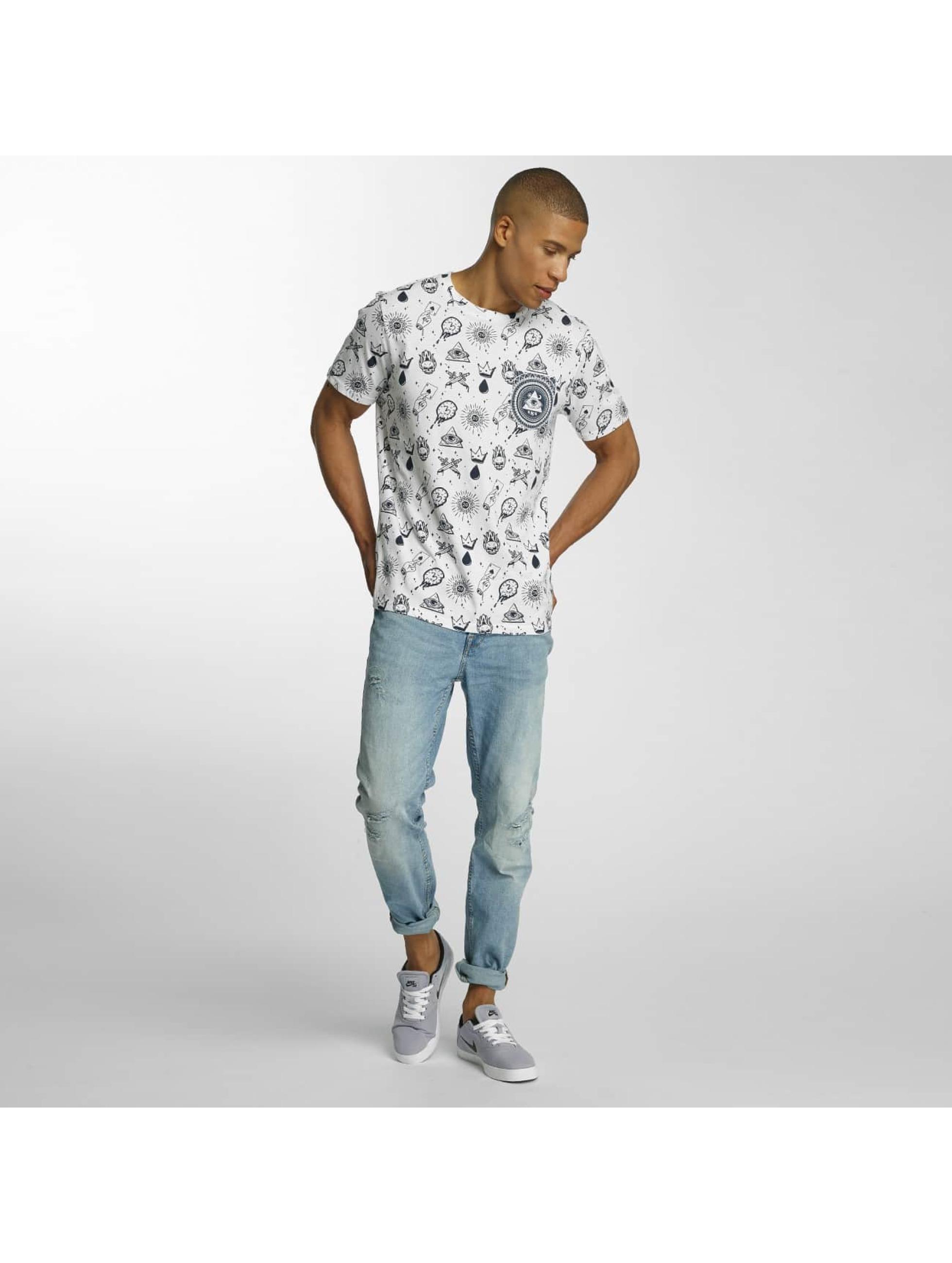 Brave Soul T-Shirt All Over Print white