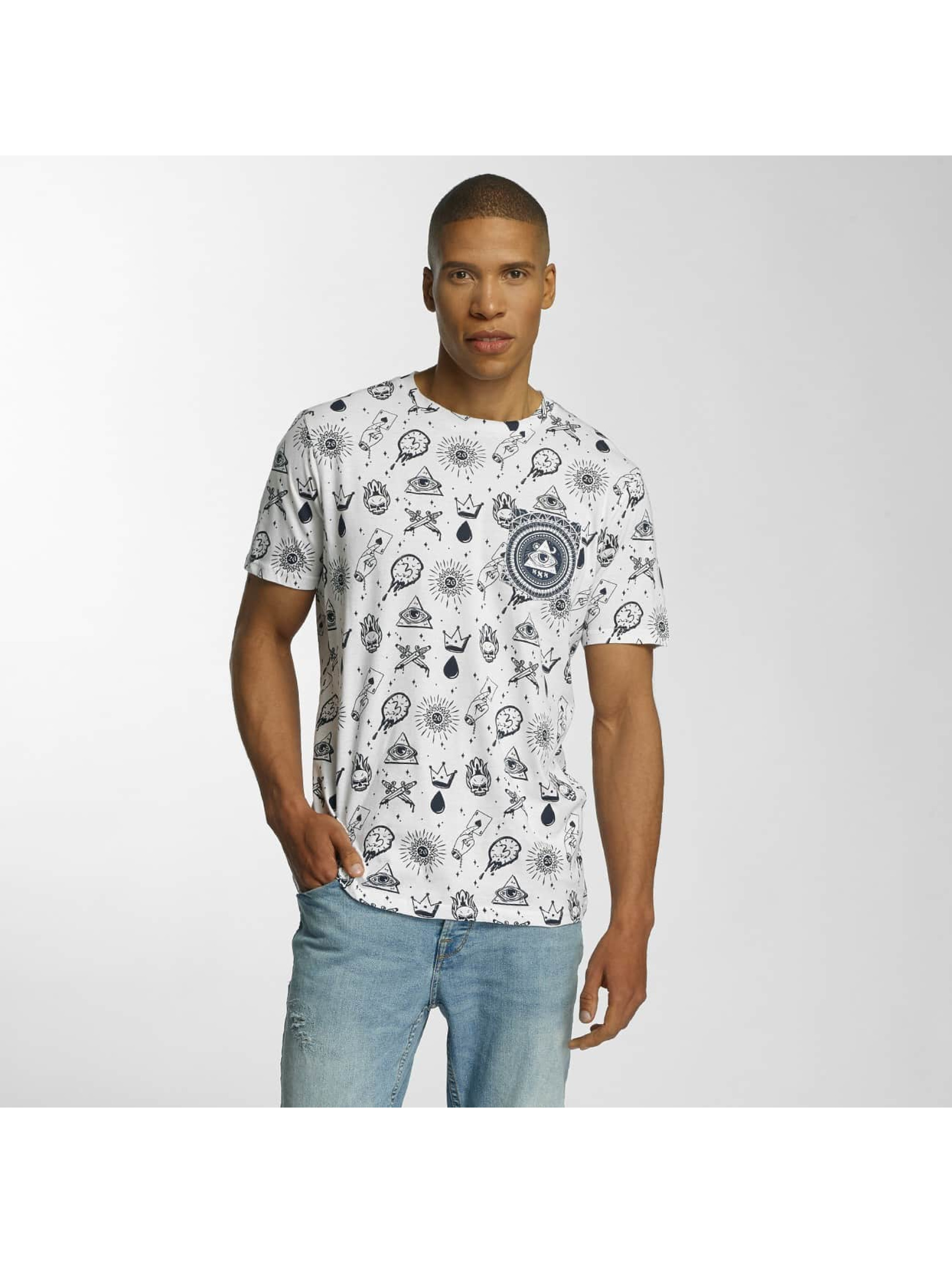 Brave Soul t-shirt All Over Print wit