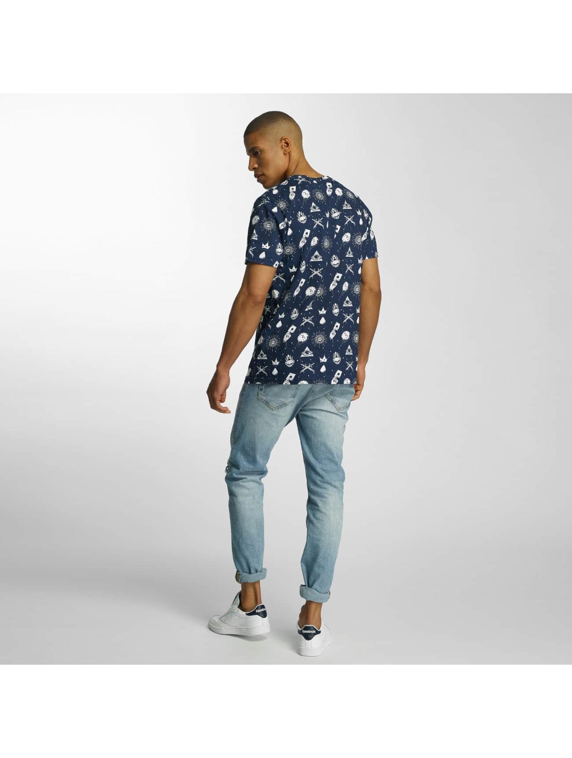 Brave Soul T-shirts All Over Print blå