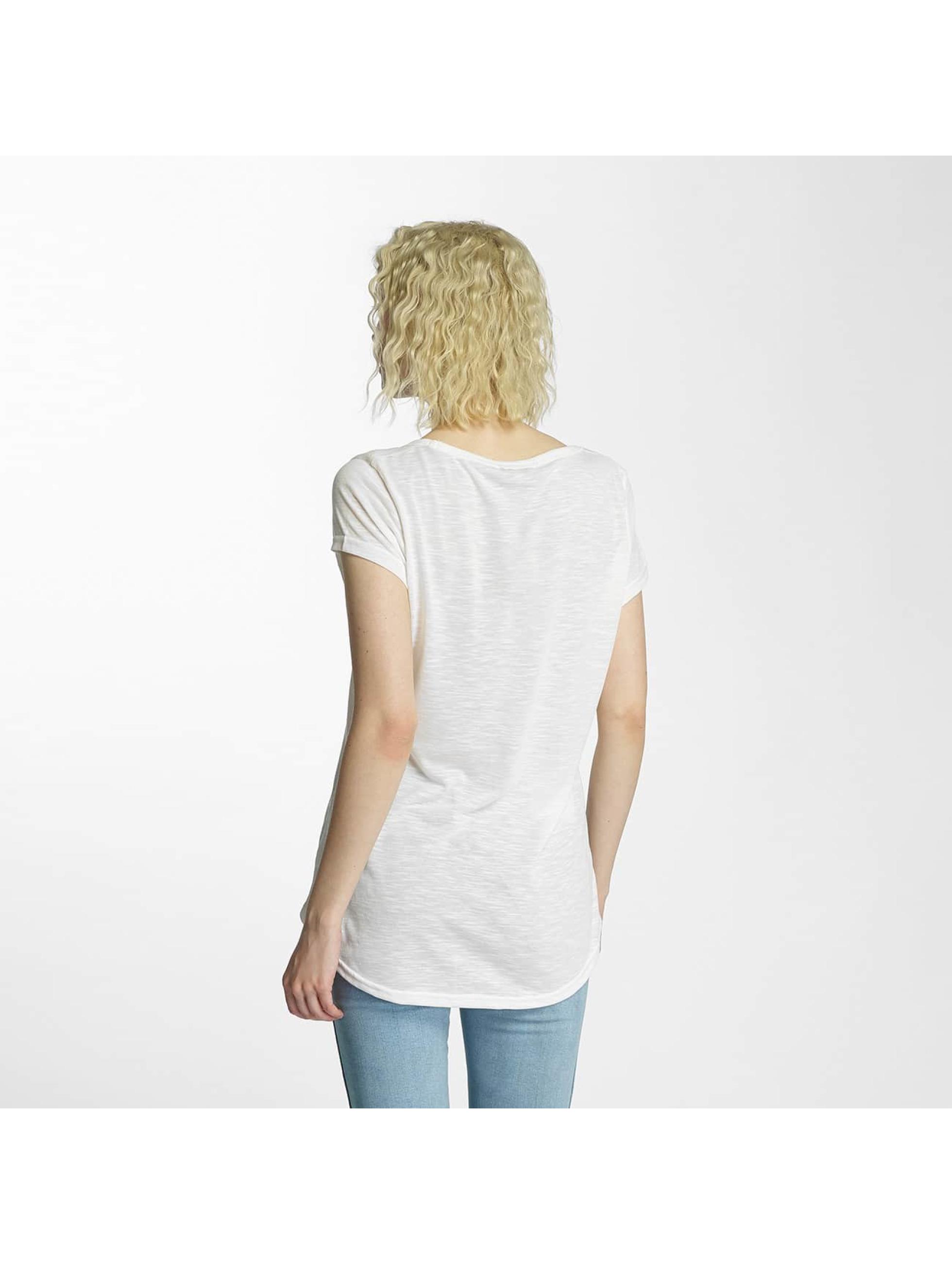 Brave Soul T-shirts Cactus Badge hvid