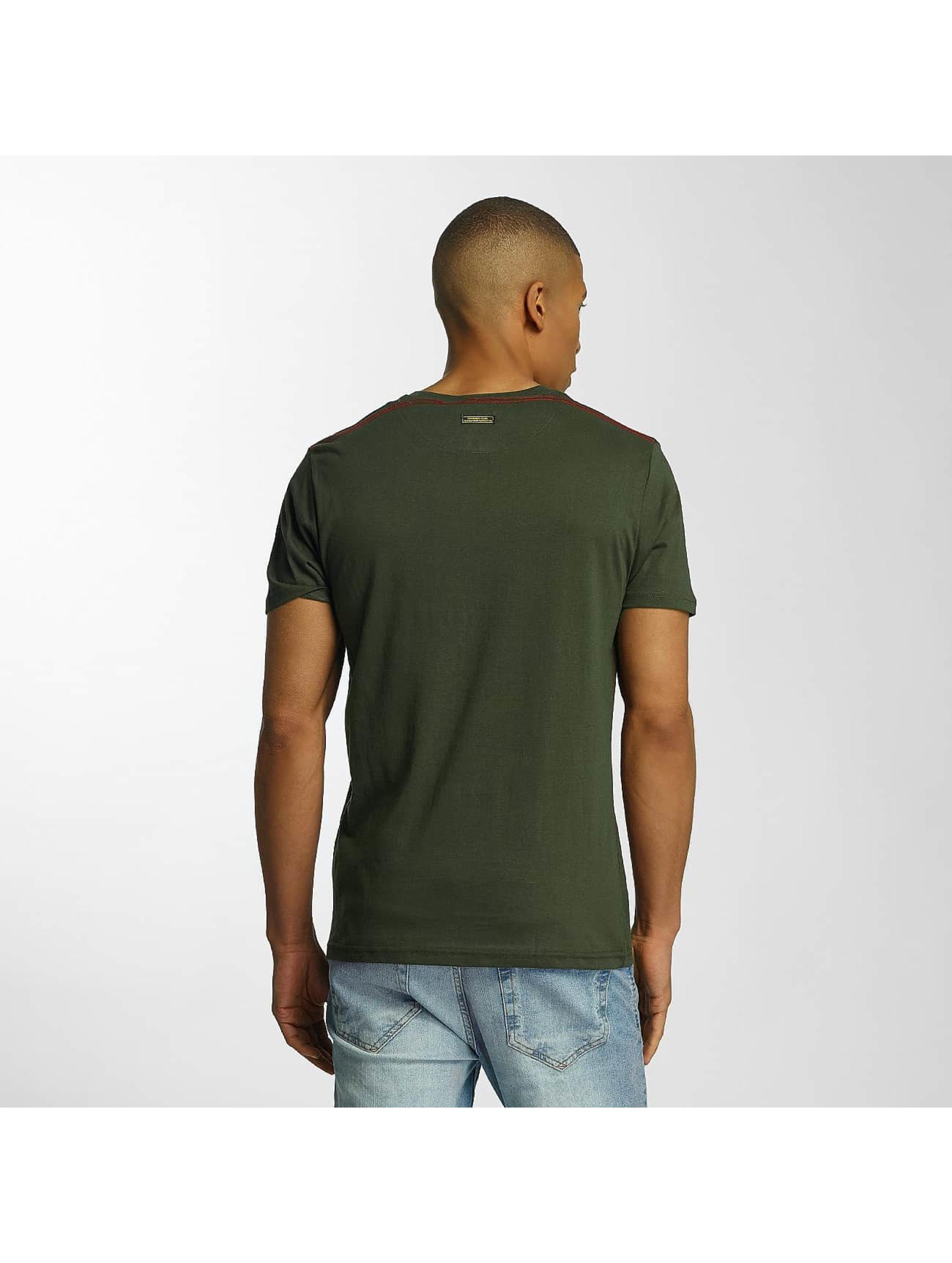 Brave Soul T-shirts Crew Neck Set khaki