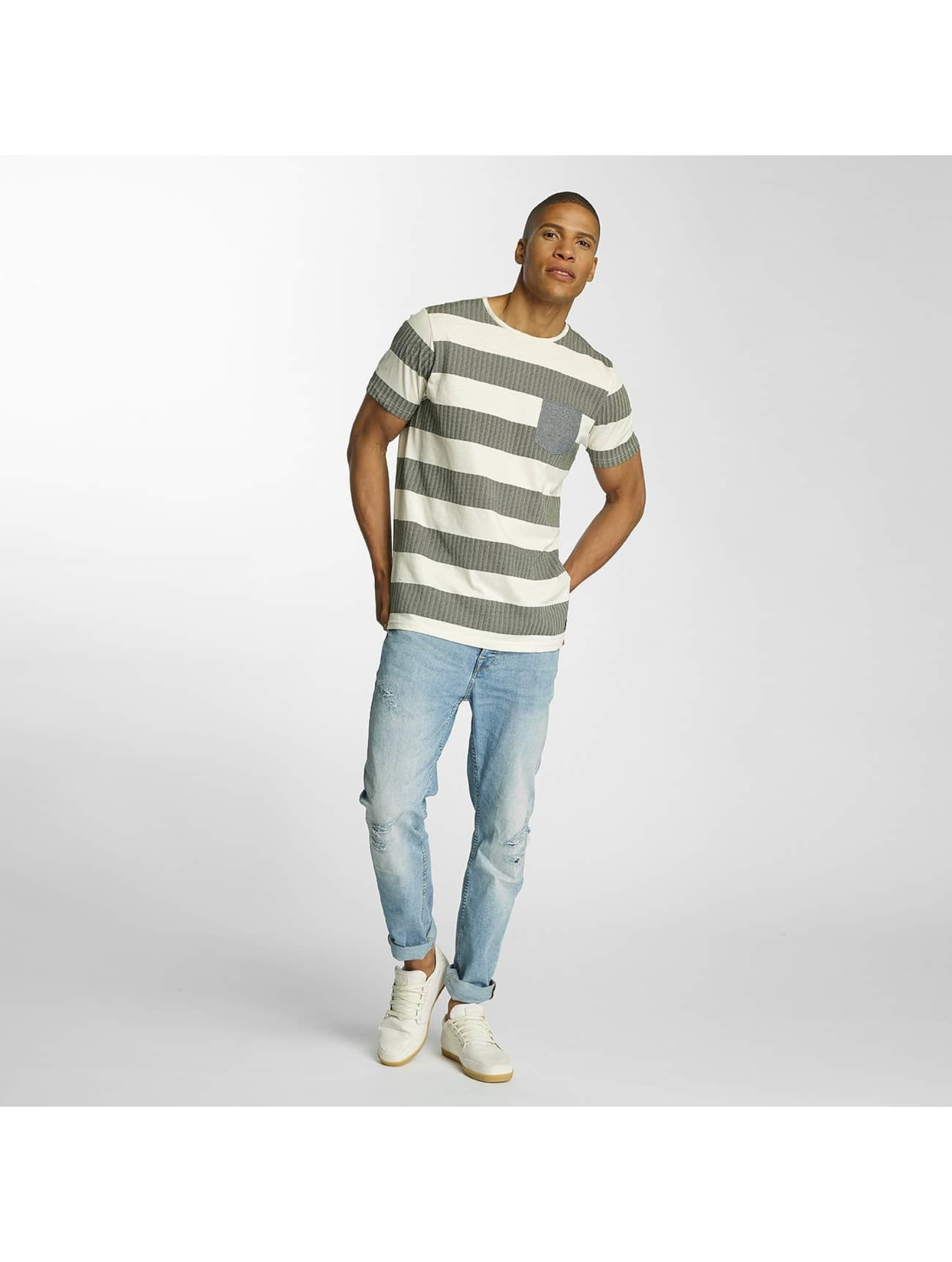 Brave Soul T-skjorter Printed Crew Neck beige