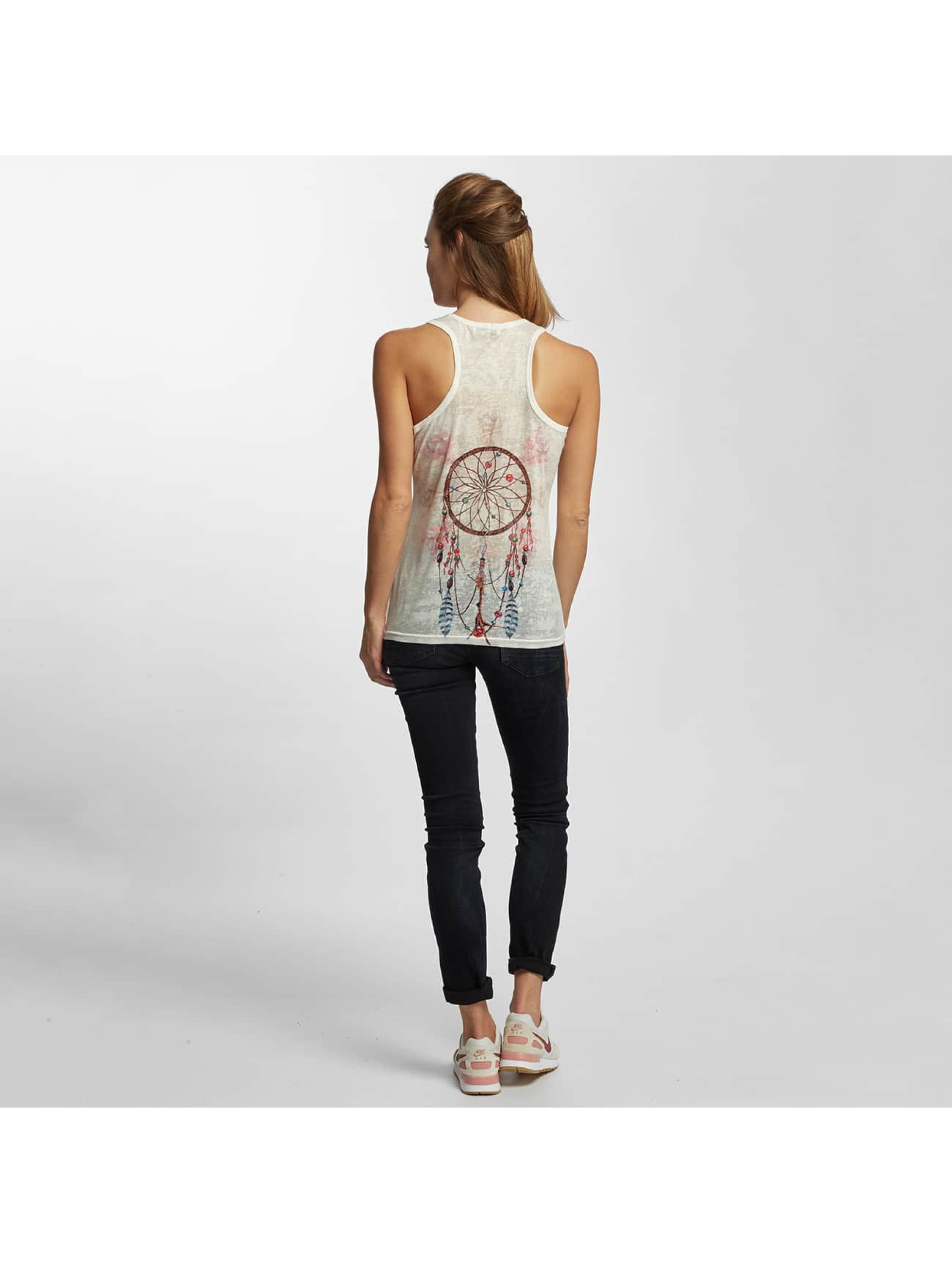 Brave Soul Tank Tops Sublimation bílý