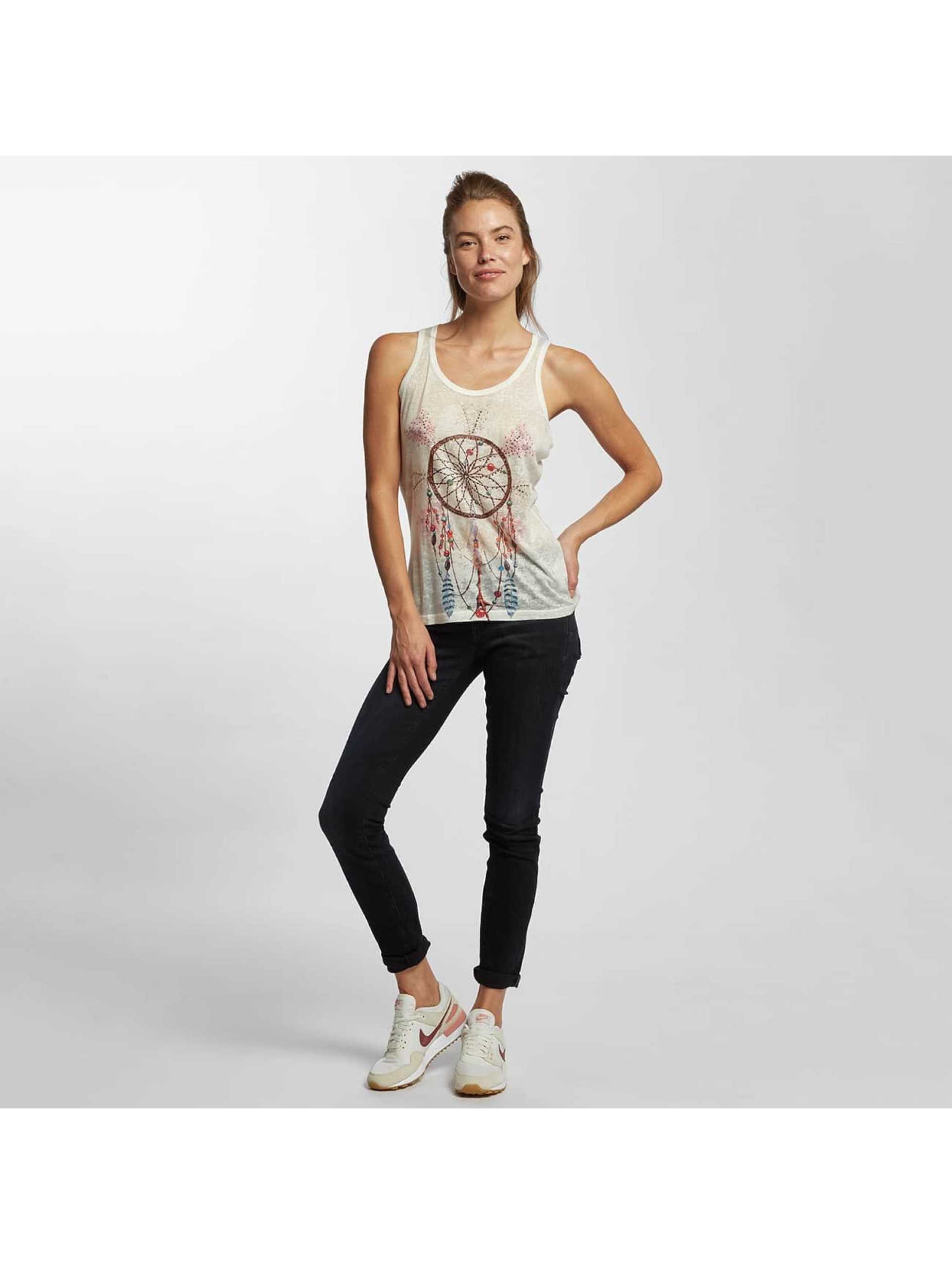 Brave Soul Tank Tops Sublimation blanco