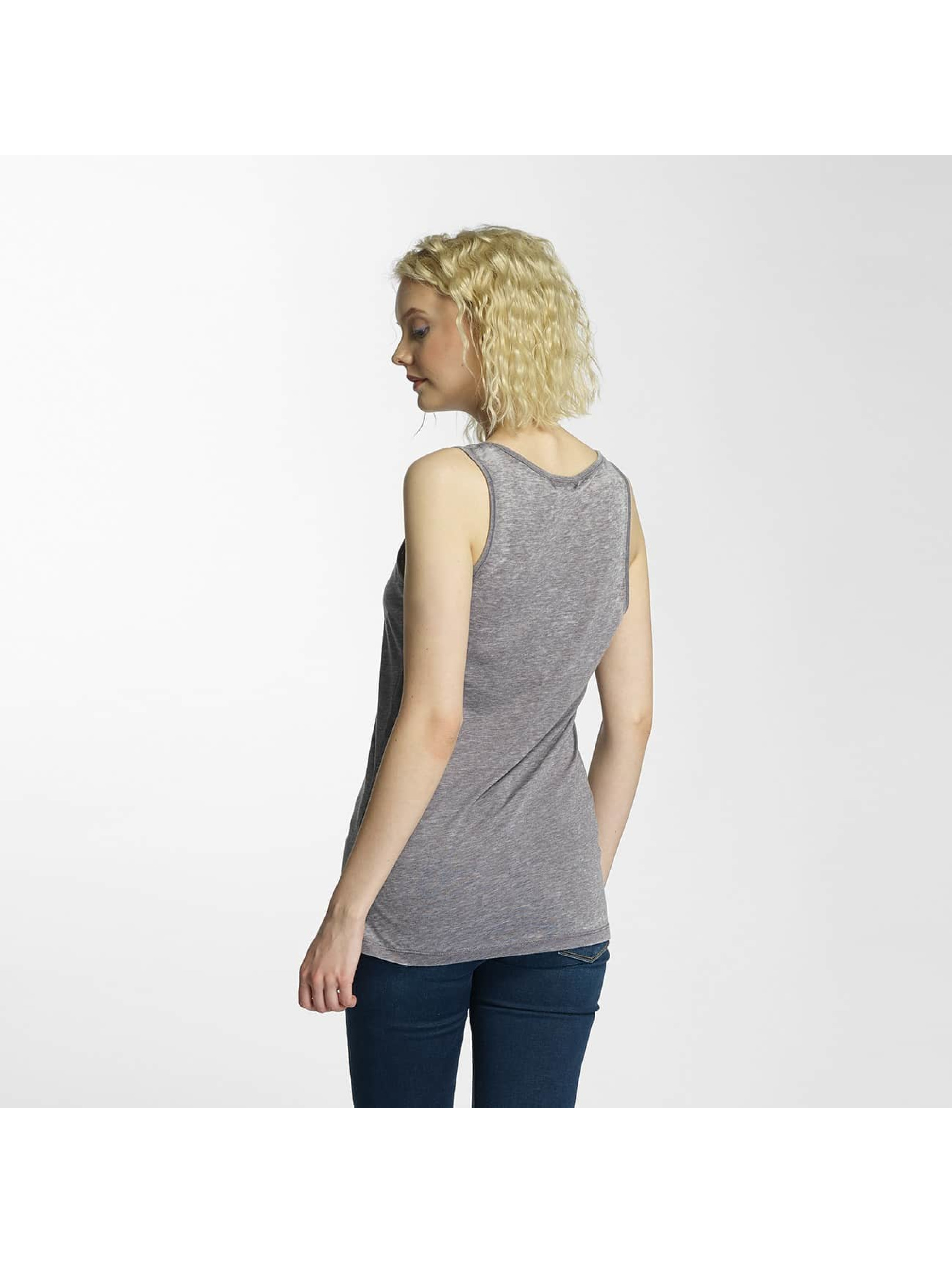 Brave Soul Tank Tops Burn Out gray