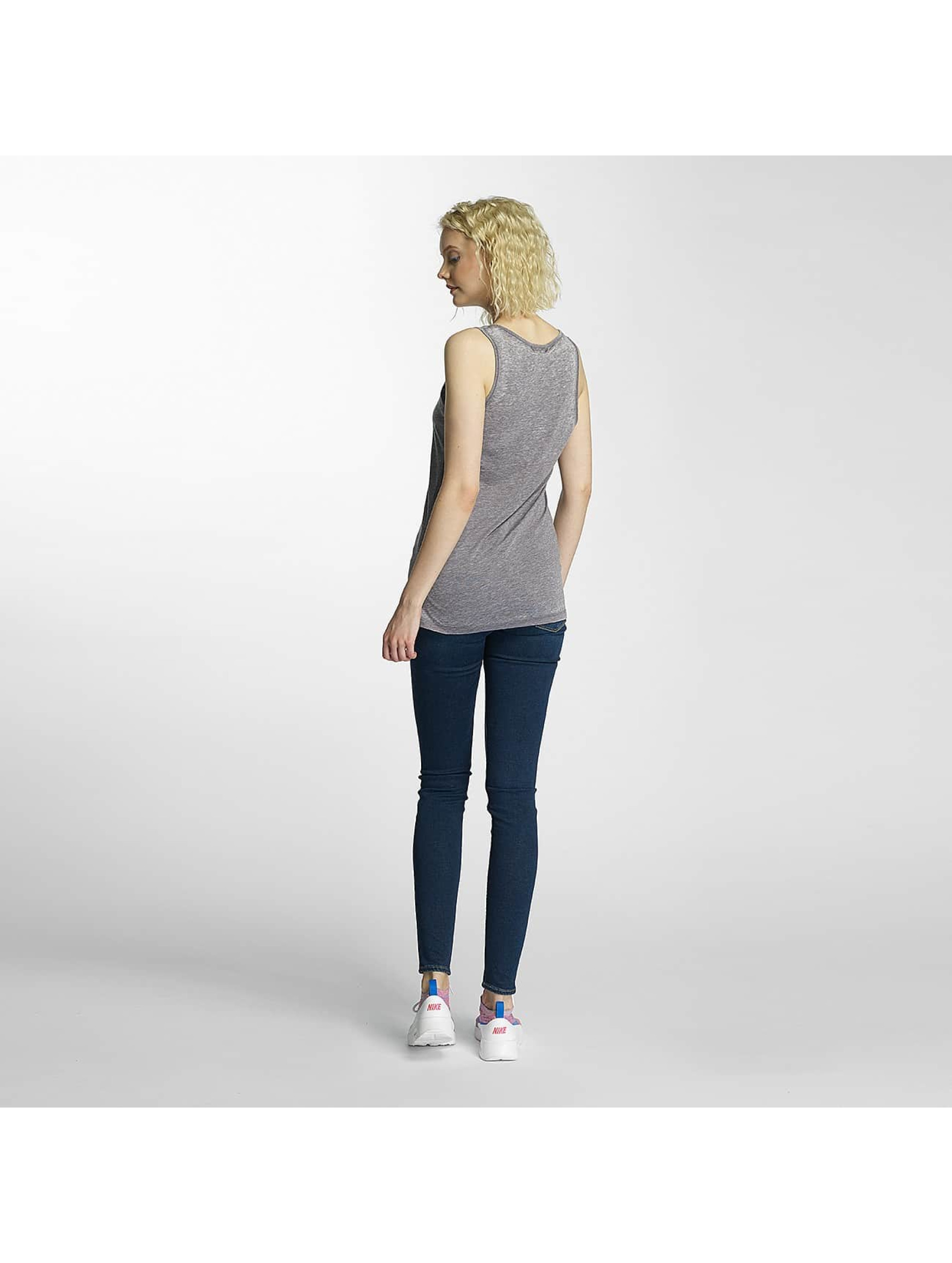 Brave Soul Tank Tops Burn Out grey