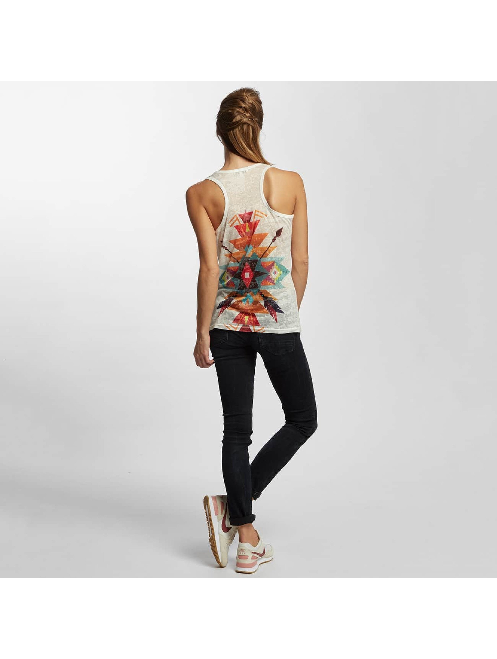 Brave Soul Tank Tops Sublimation hvit