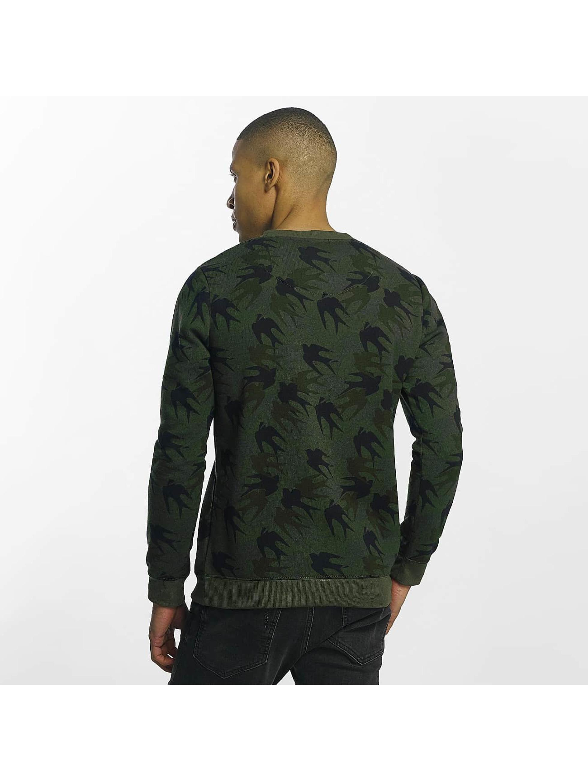 Brave Soul Trøjer Sweatshirt Mid khaki