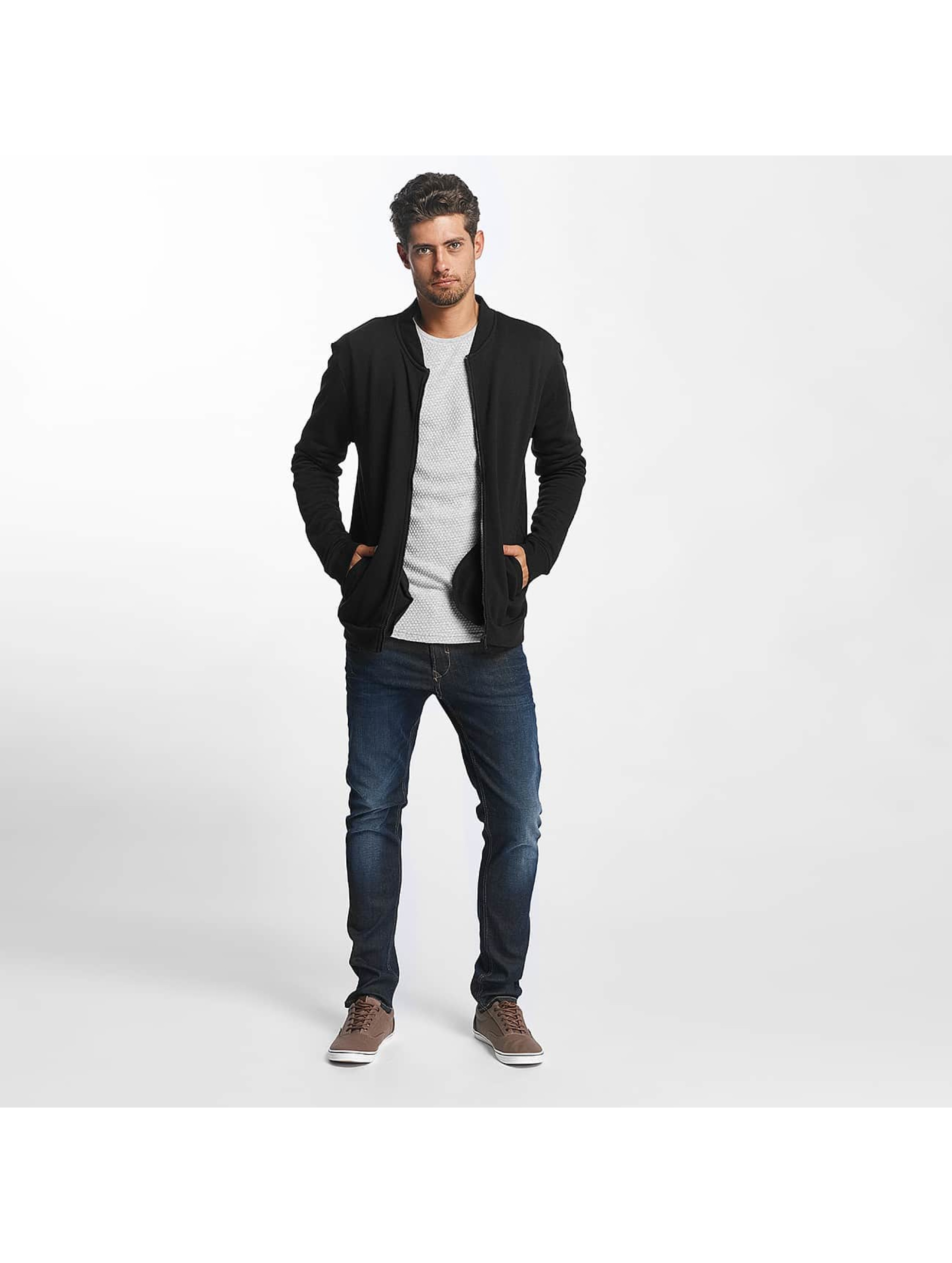 Brave Soul Transitional Jackets Wallacef Baseball Style svart