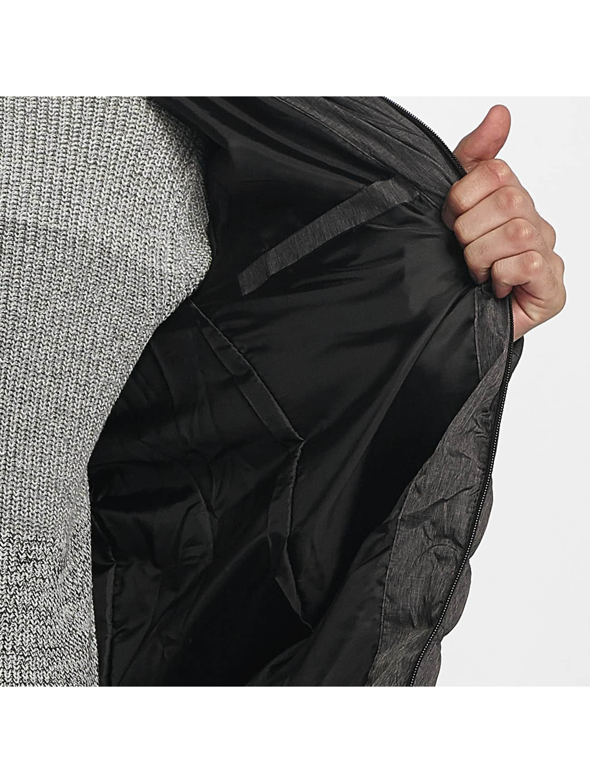 Brave Soul Winter Jacket Puffer grey