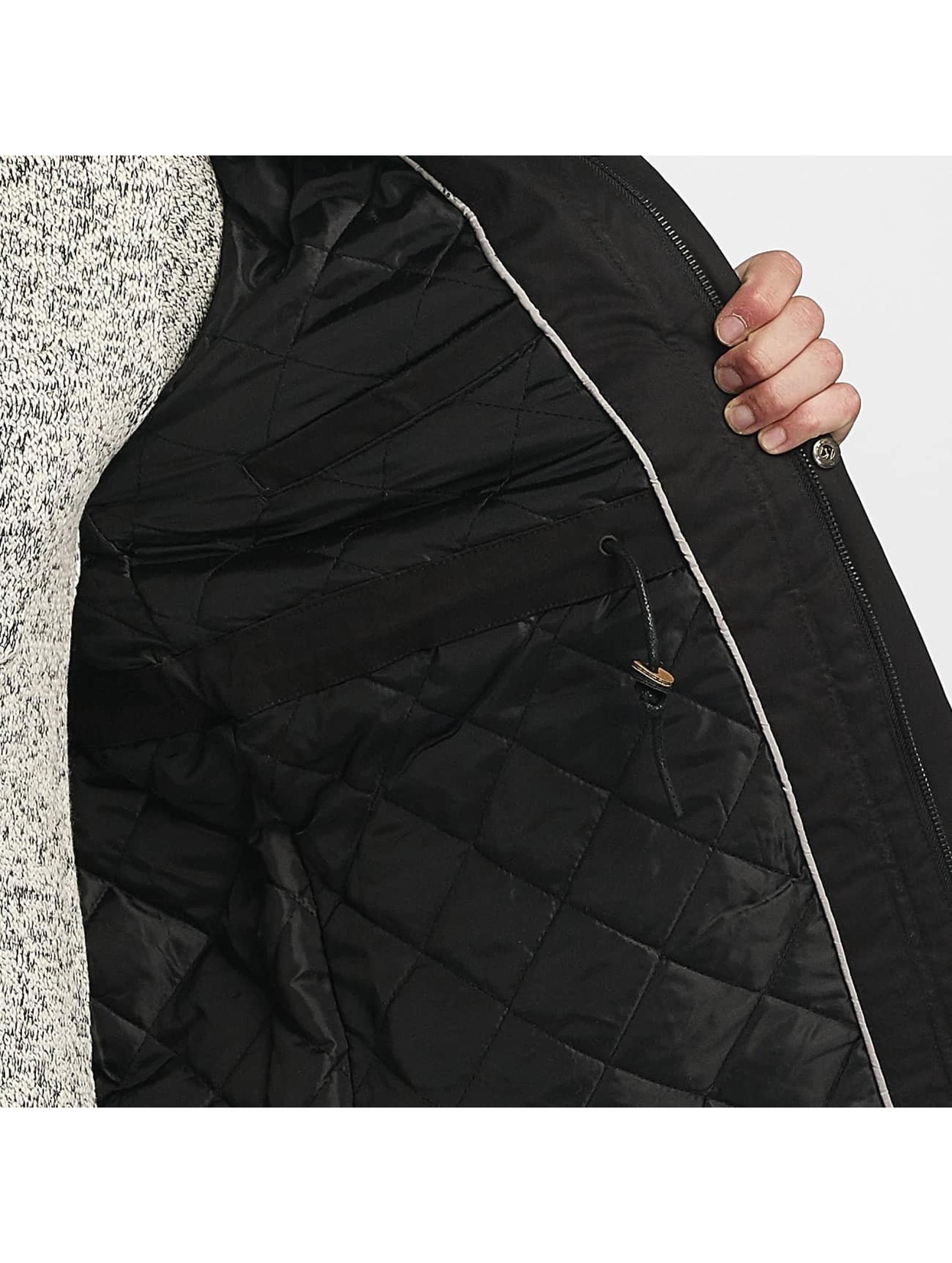 Brave Soul winterjas Brave Soul Winter Jacket zwart