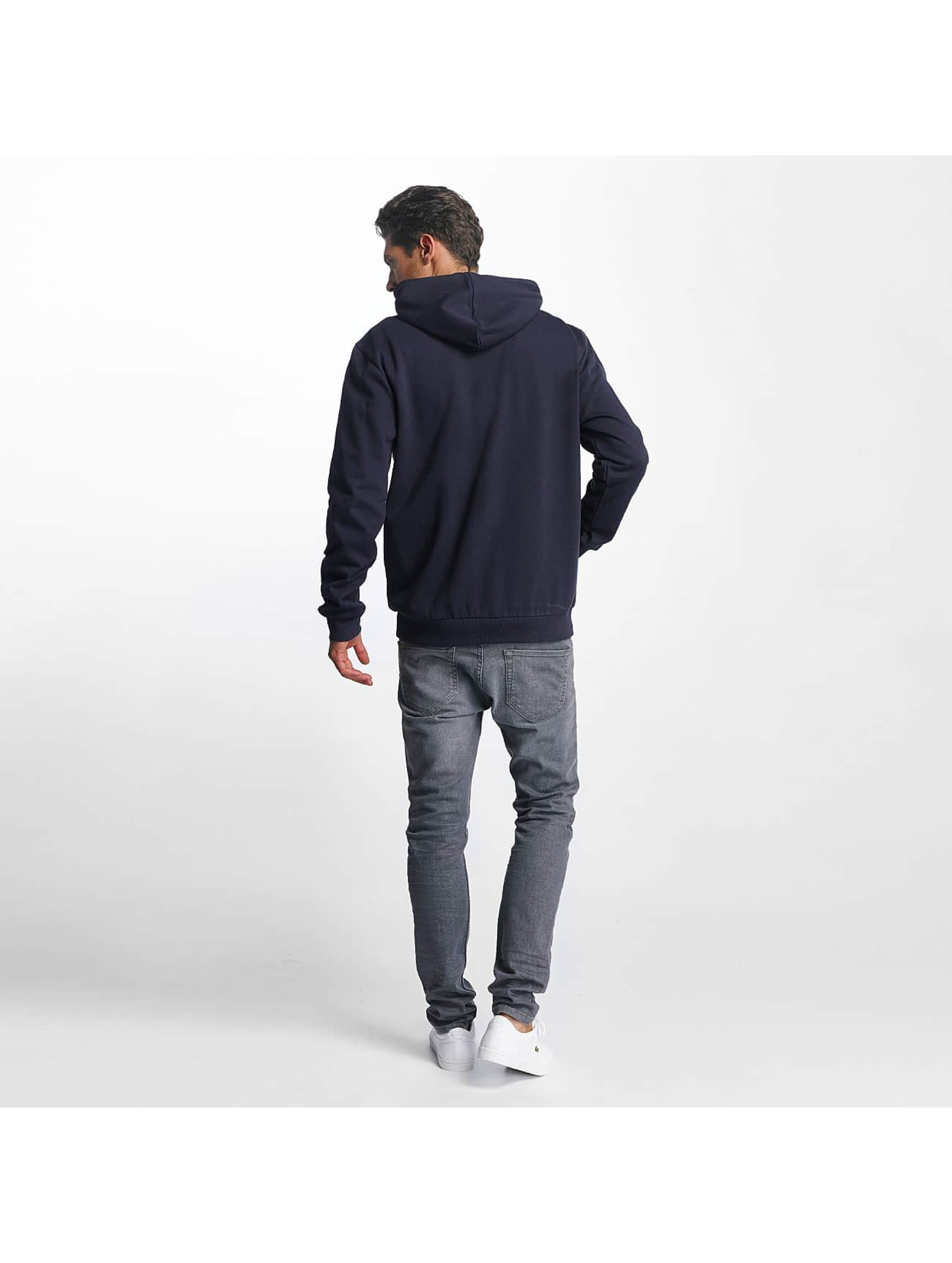 Brave Soul Zip Hoodie Through Jumper blue
