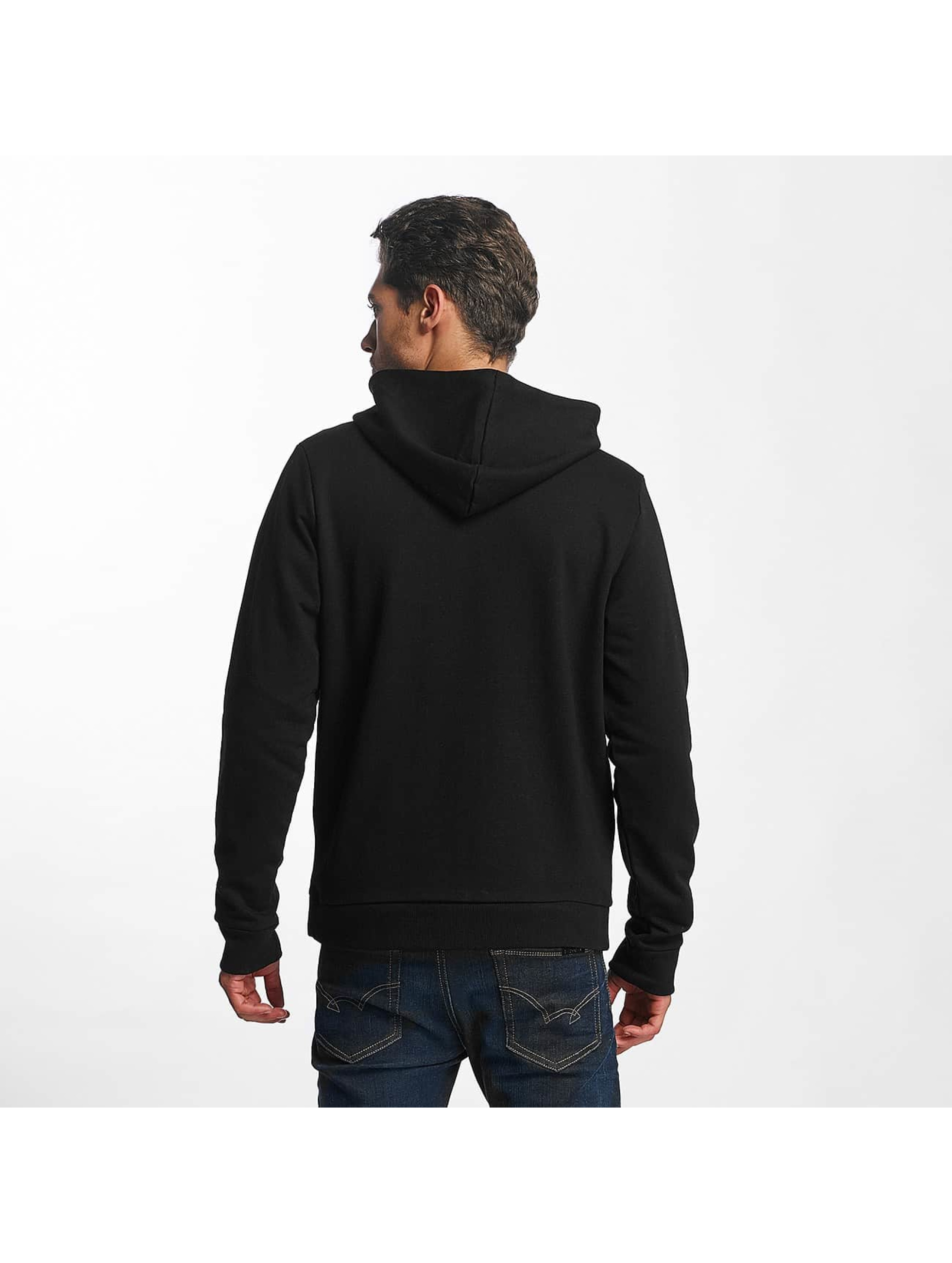 Brave Soul Zip Hoodie Adrian czarny