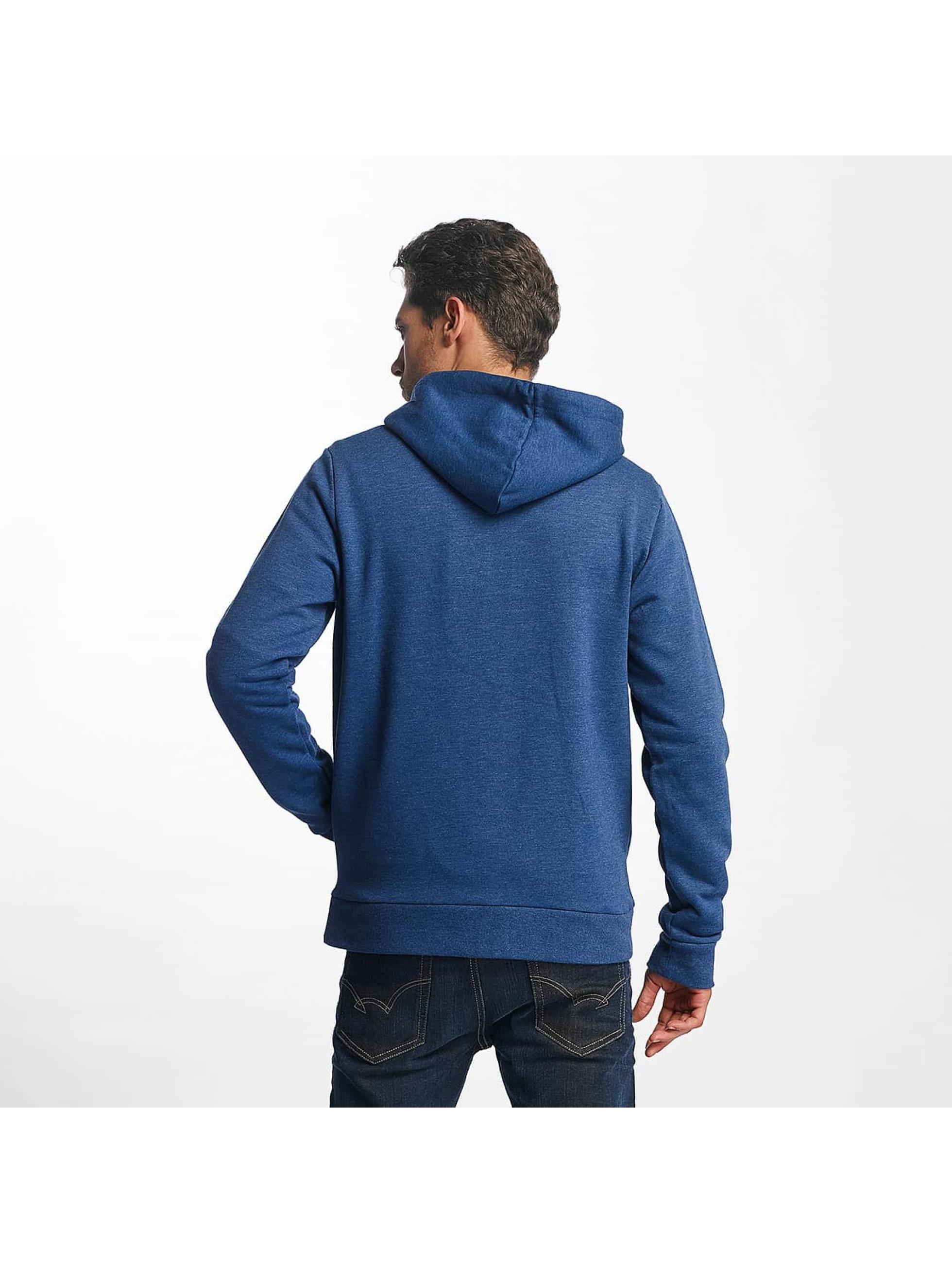 Brave Soul Zip Hoodie Adrian niebieski