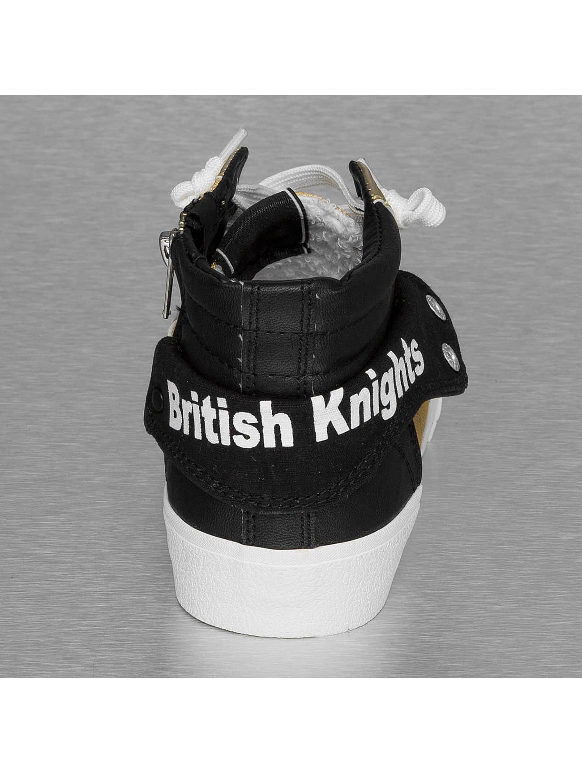 British Knights Сникеры Rigit Mesh PU золото