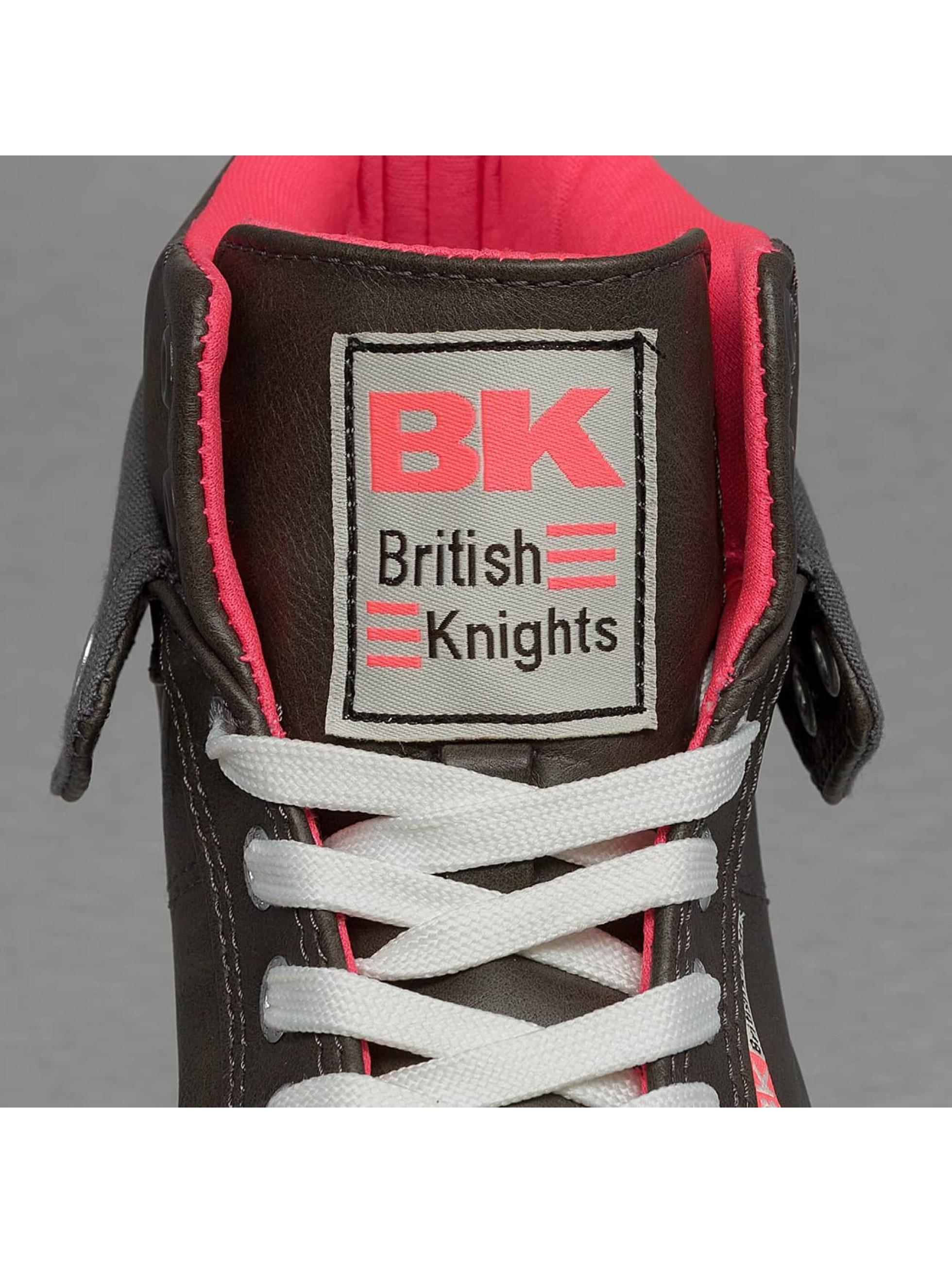British Knights Сникеры Roco PU серый