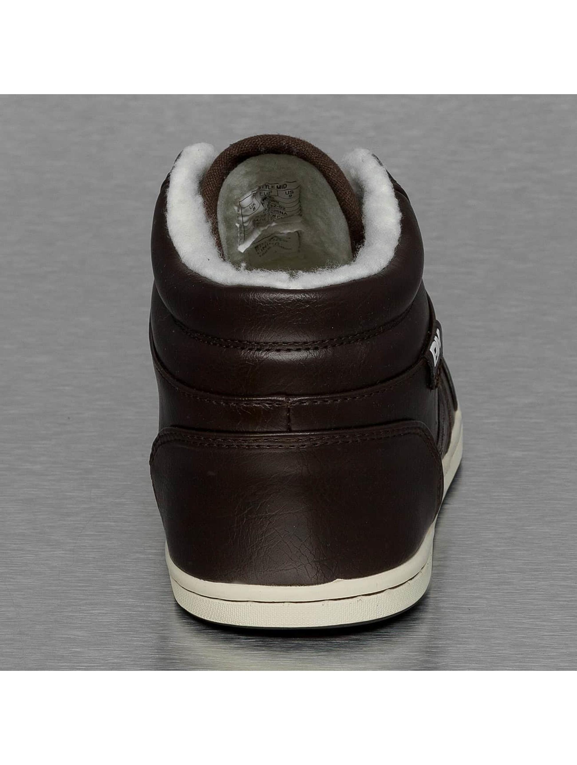 British Knights Sneaker Re-Style Mid PU WL braun