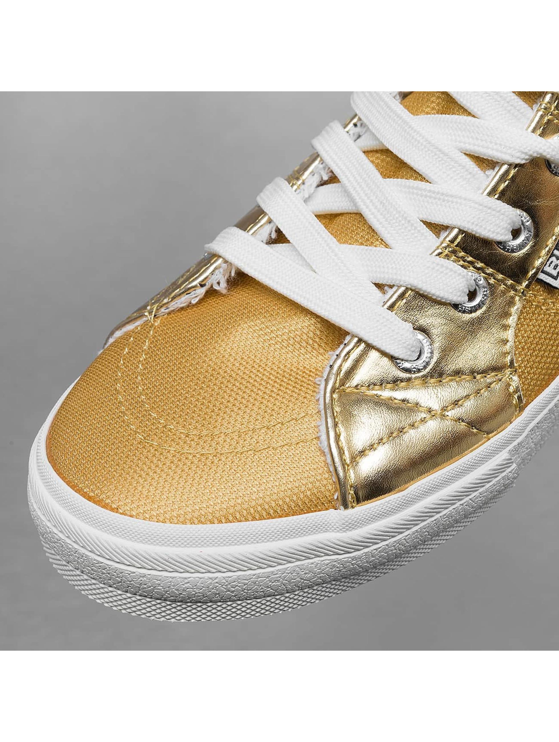 British Knights sneaker Rigit Mesh PU goud