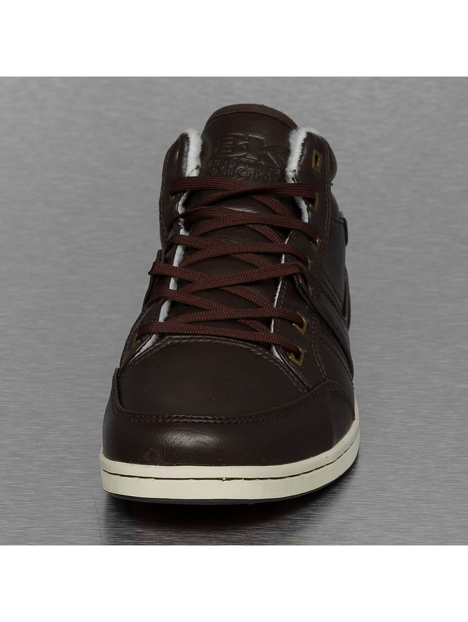 British Knights Sneakers Re-Style Mid PU WL brown