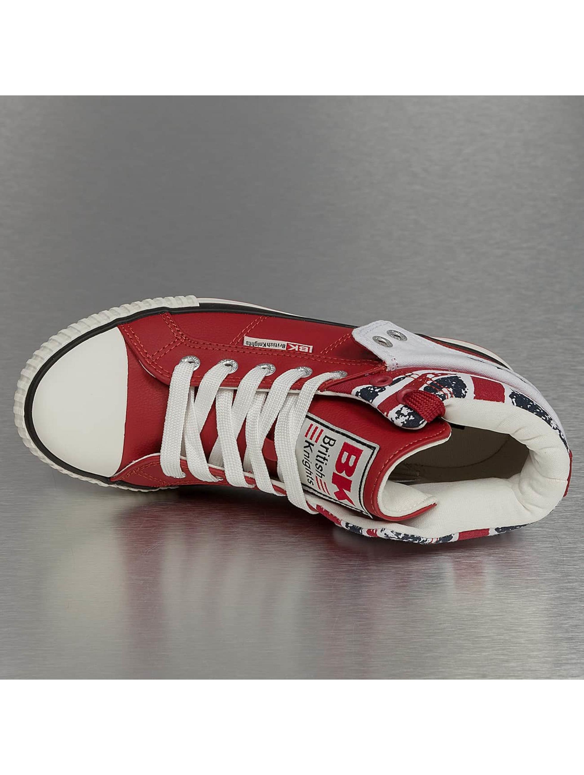 British Knights Sneakers Roco PU Textile czerwony