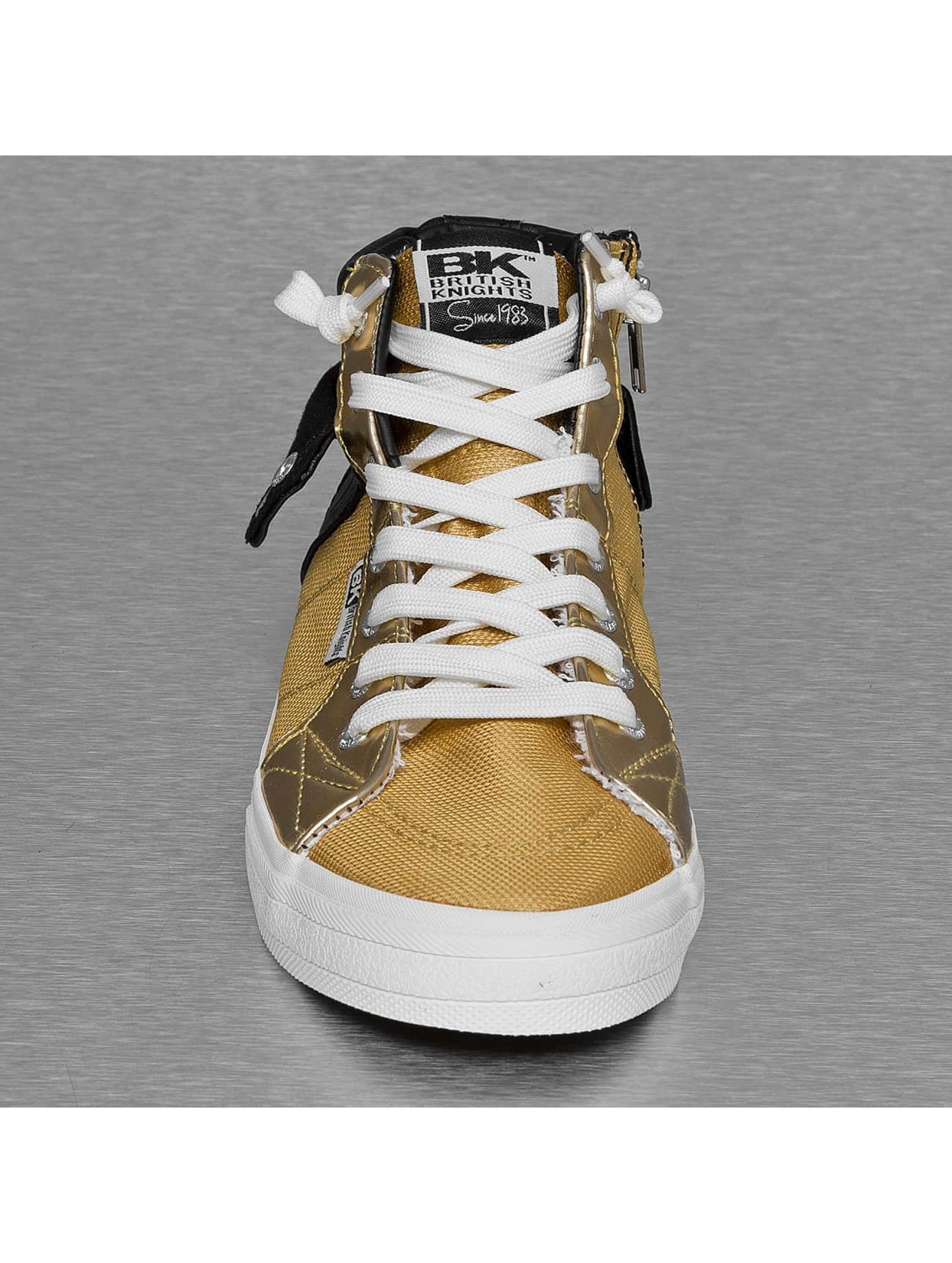 British Knights Sneakers Rigit Mesh PU gold
