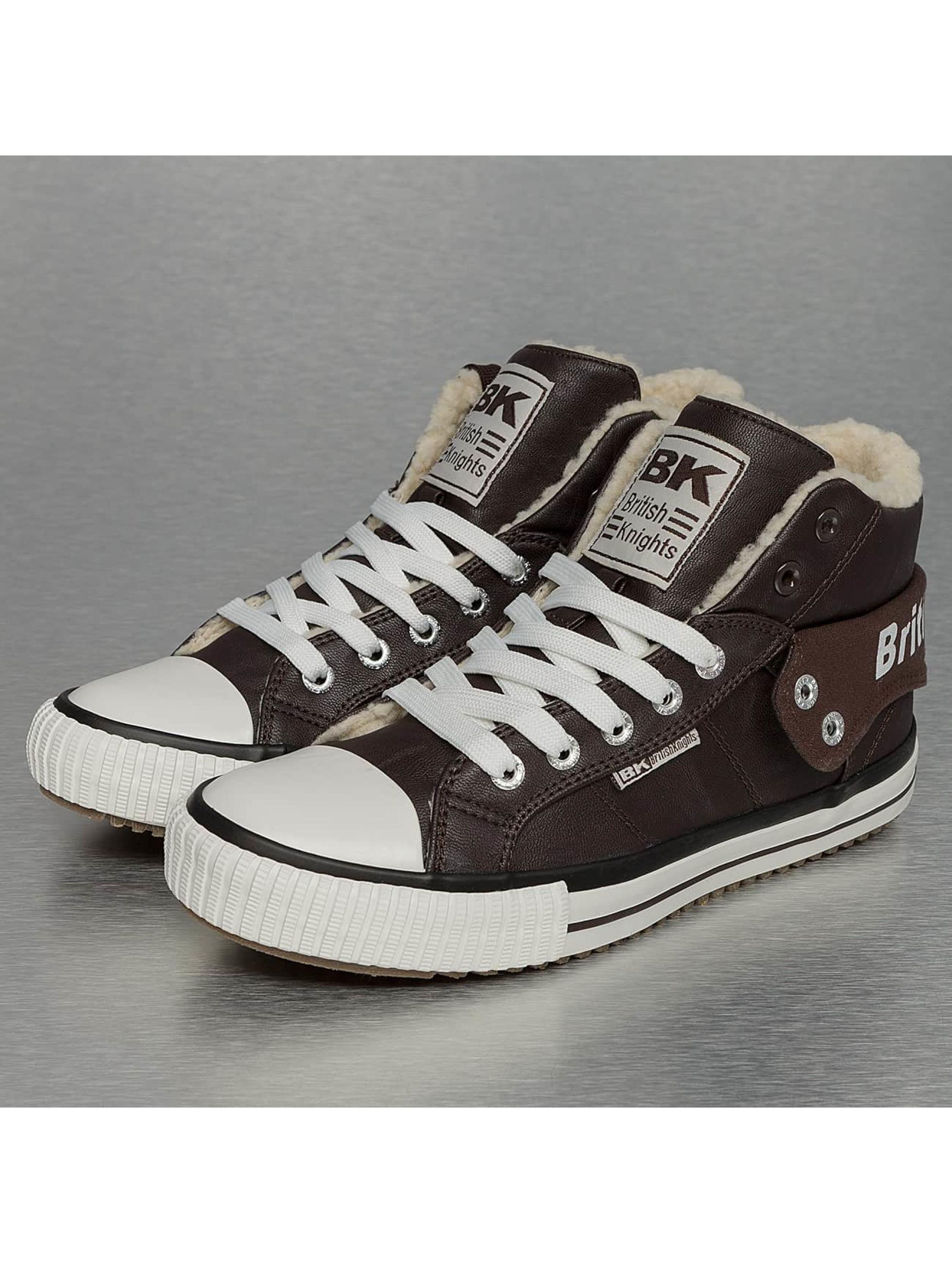 British Knights Sneakers Roco PU WL Profile hnedá