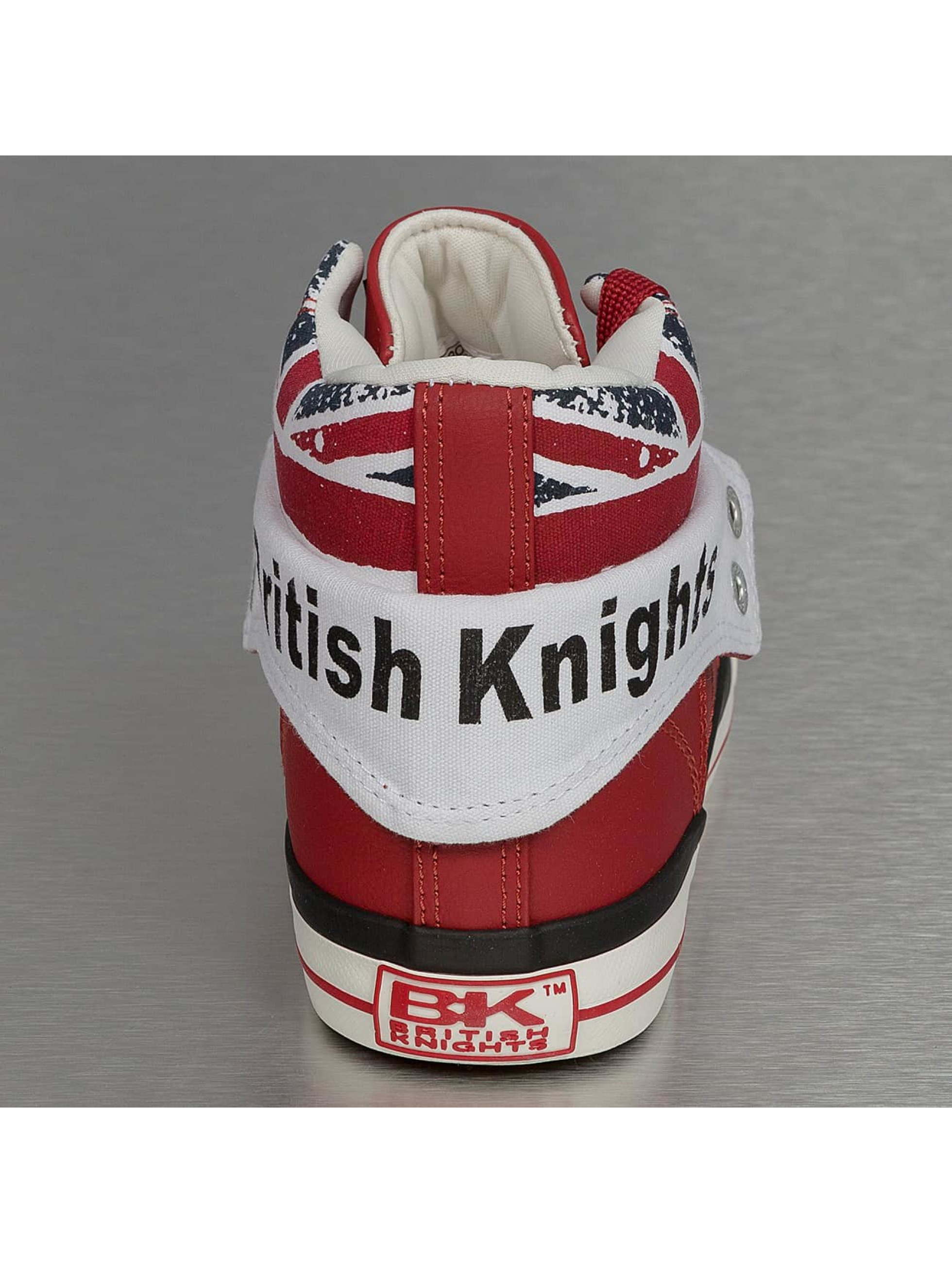 British Knights Sneakers Roco PU Textile red
