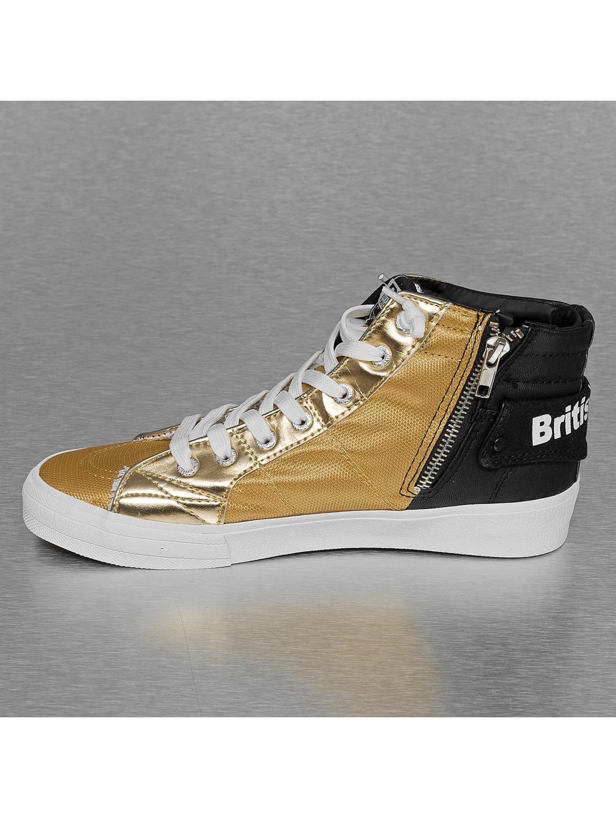 British Knights Sneakers Rigit Mesh PU zlatá