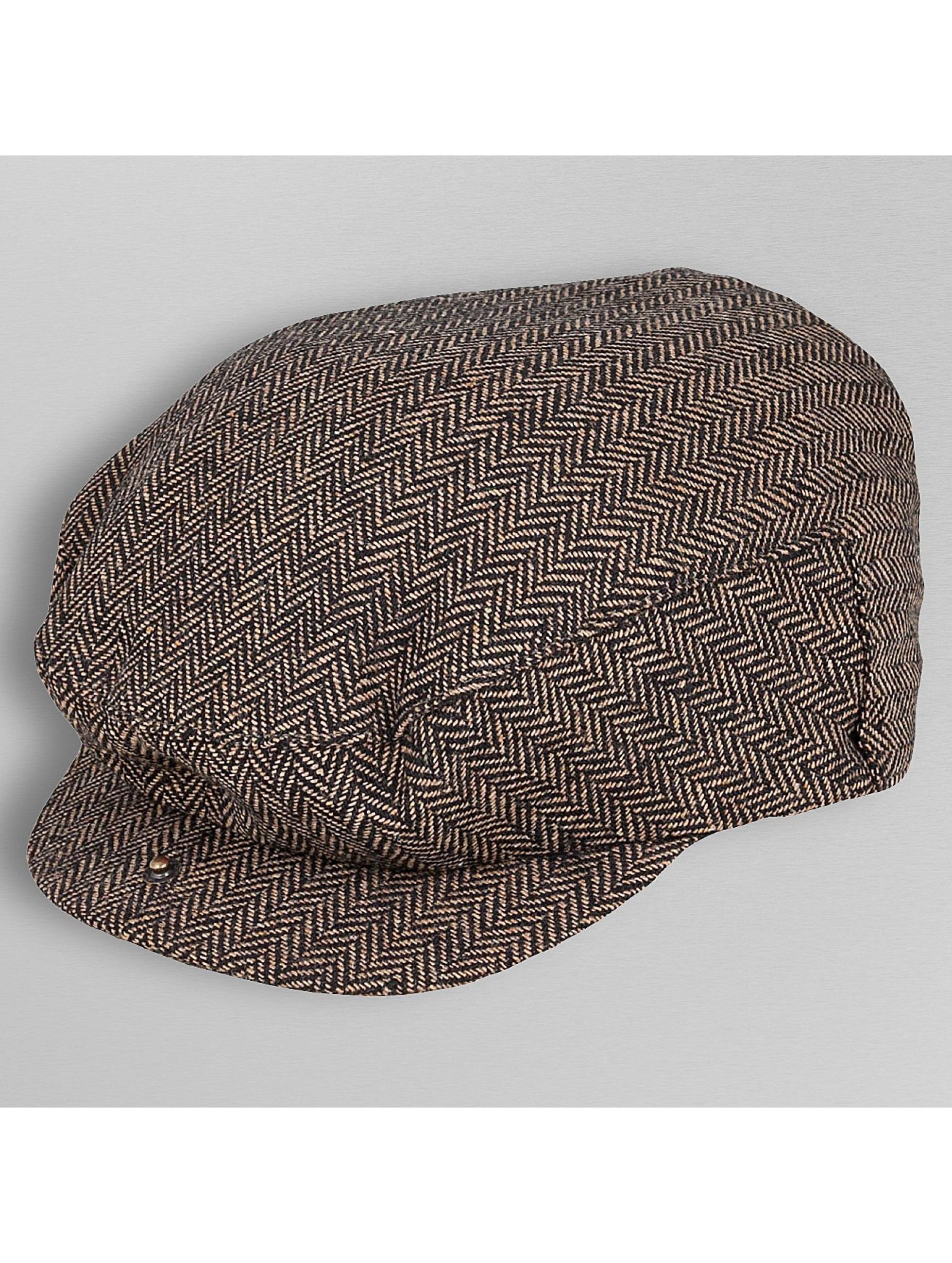 Brixton Шляпа Hooligan коричневый