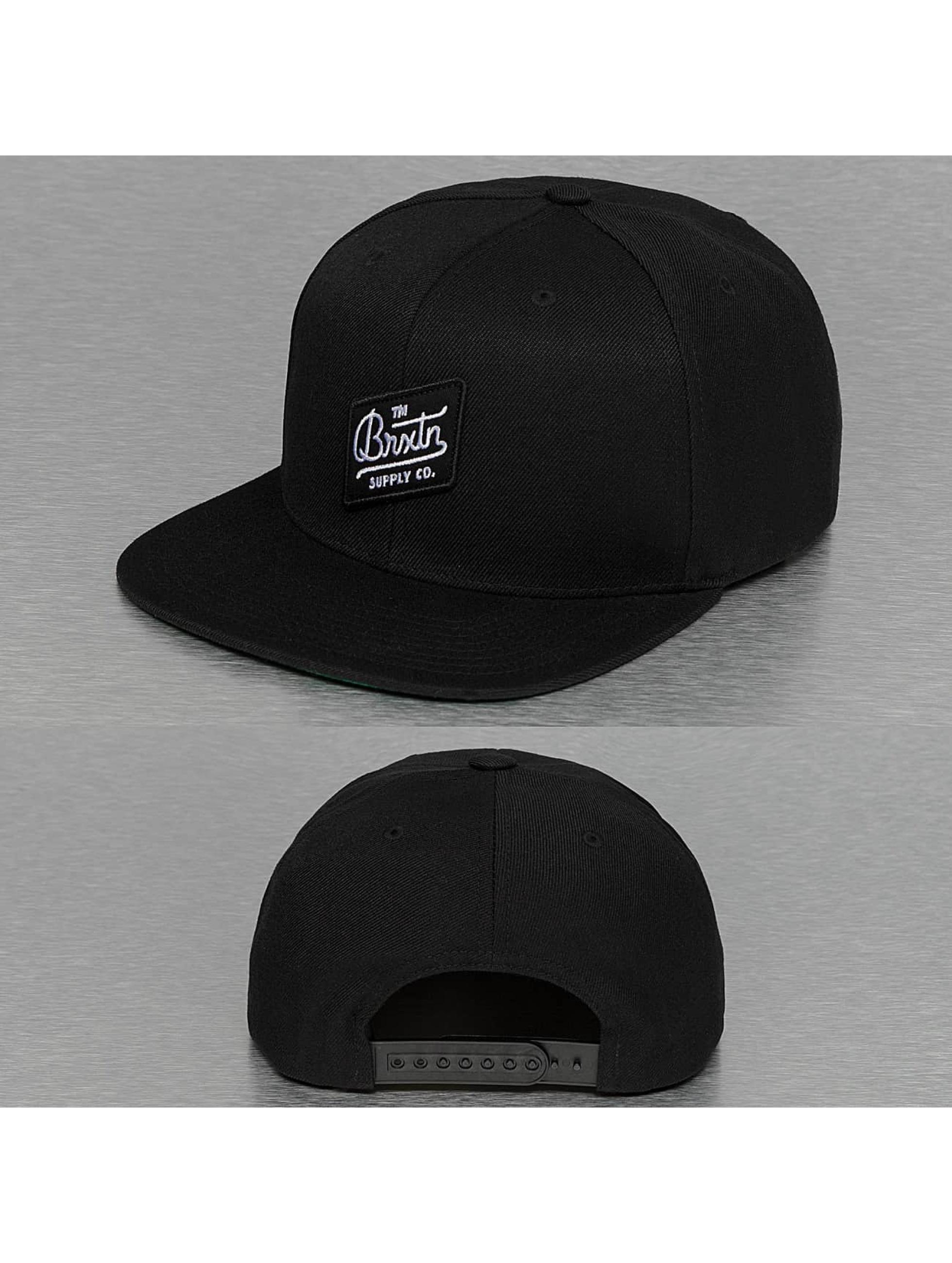Brixton Snapback Cap Bedford black