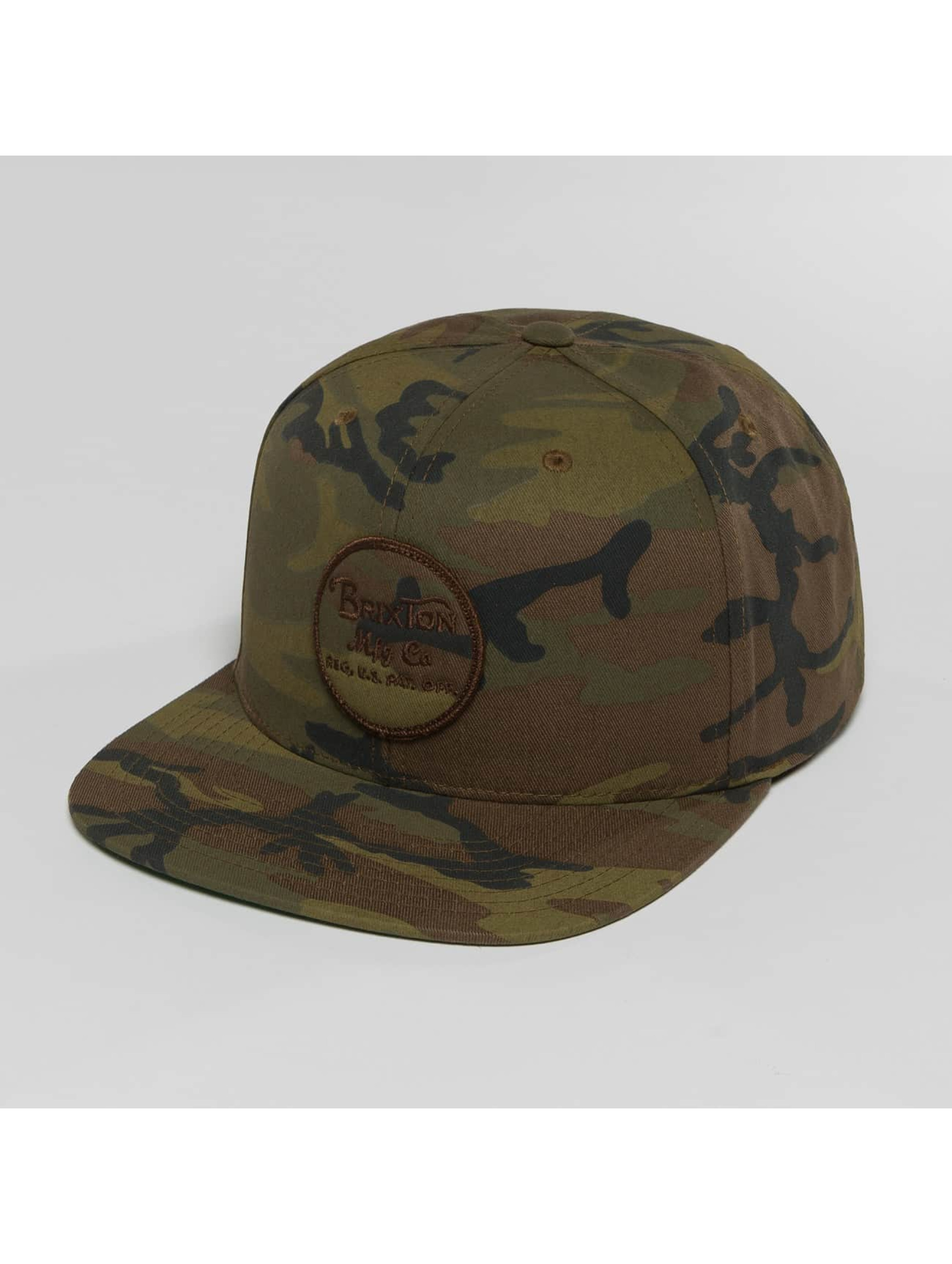 Brixton Snapback Cap Wheeler camouflage