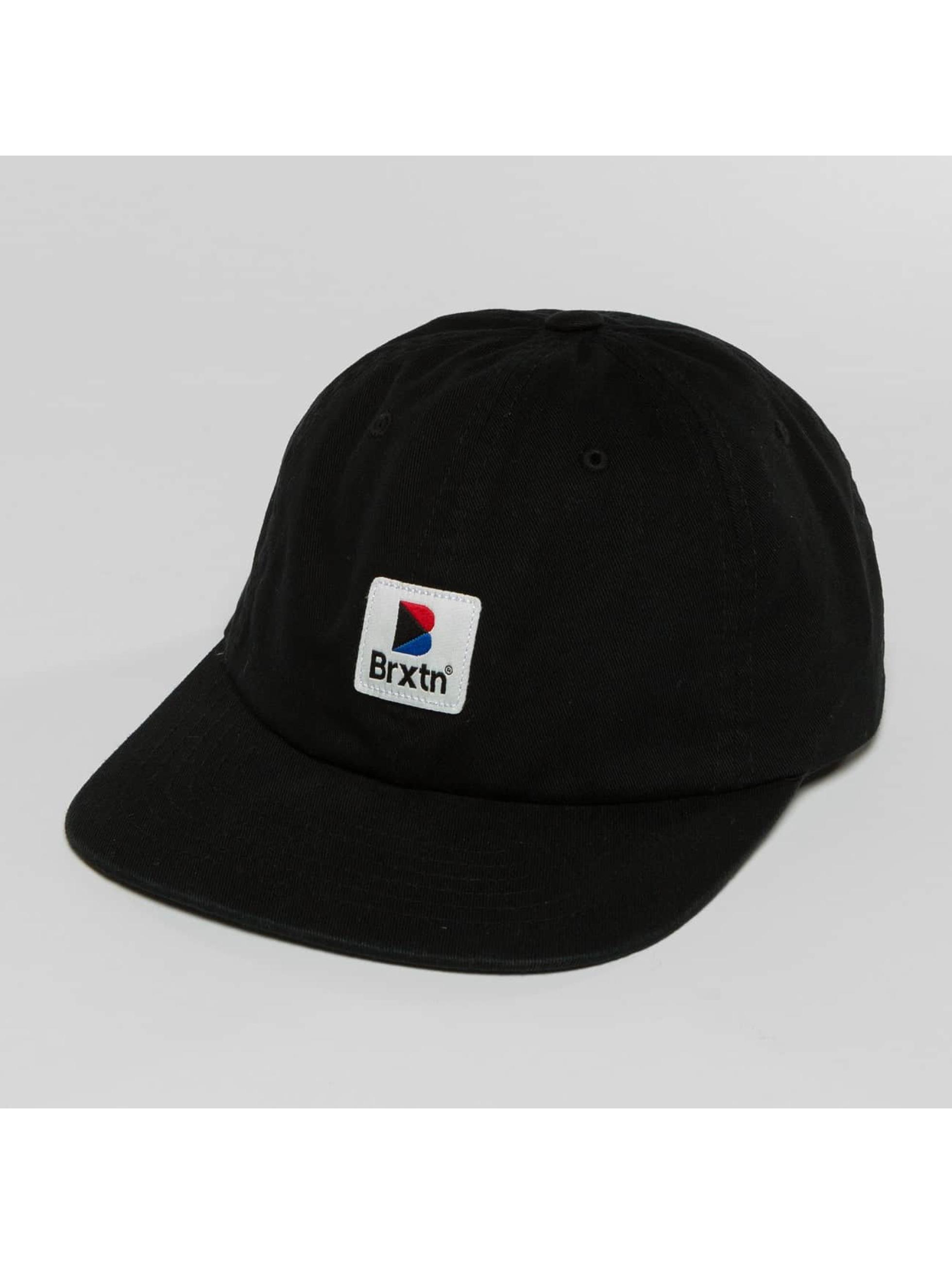 Brixton Snapback Caps Stowell Mp musta