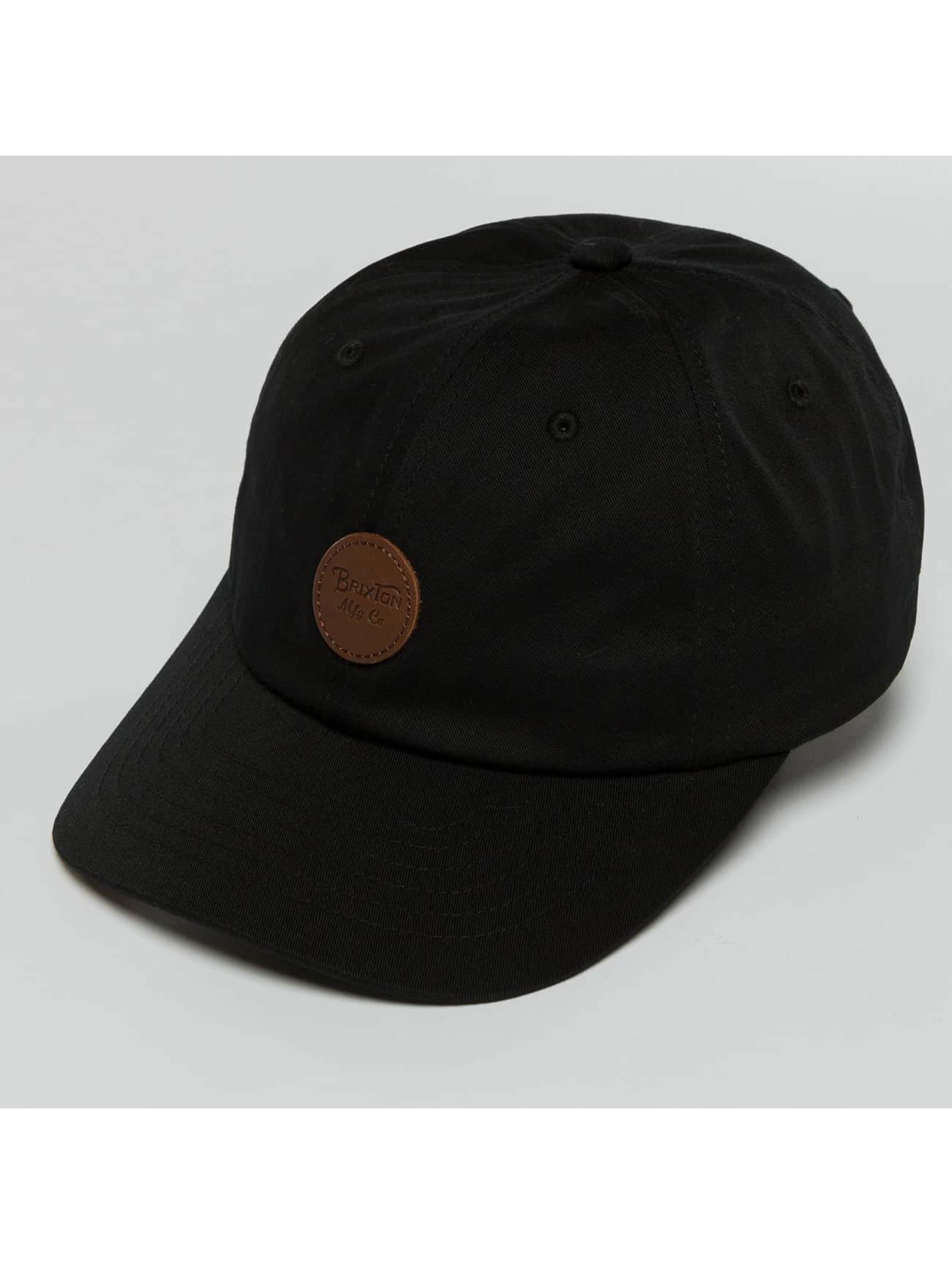 Brixton Snapback Caps Wheeler Mp svart