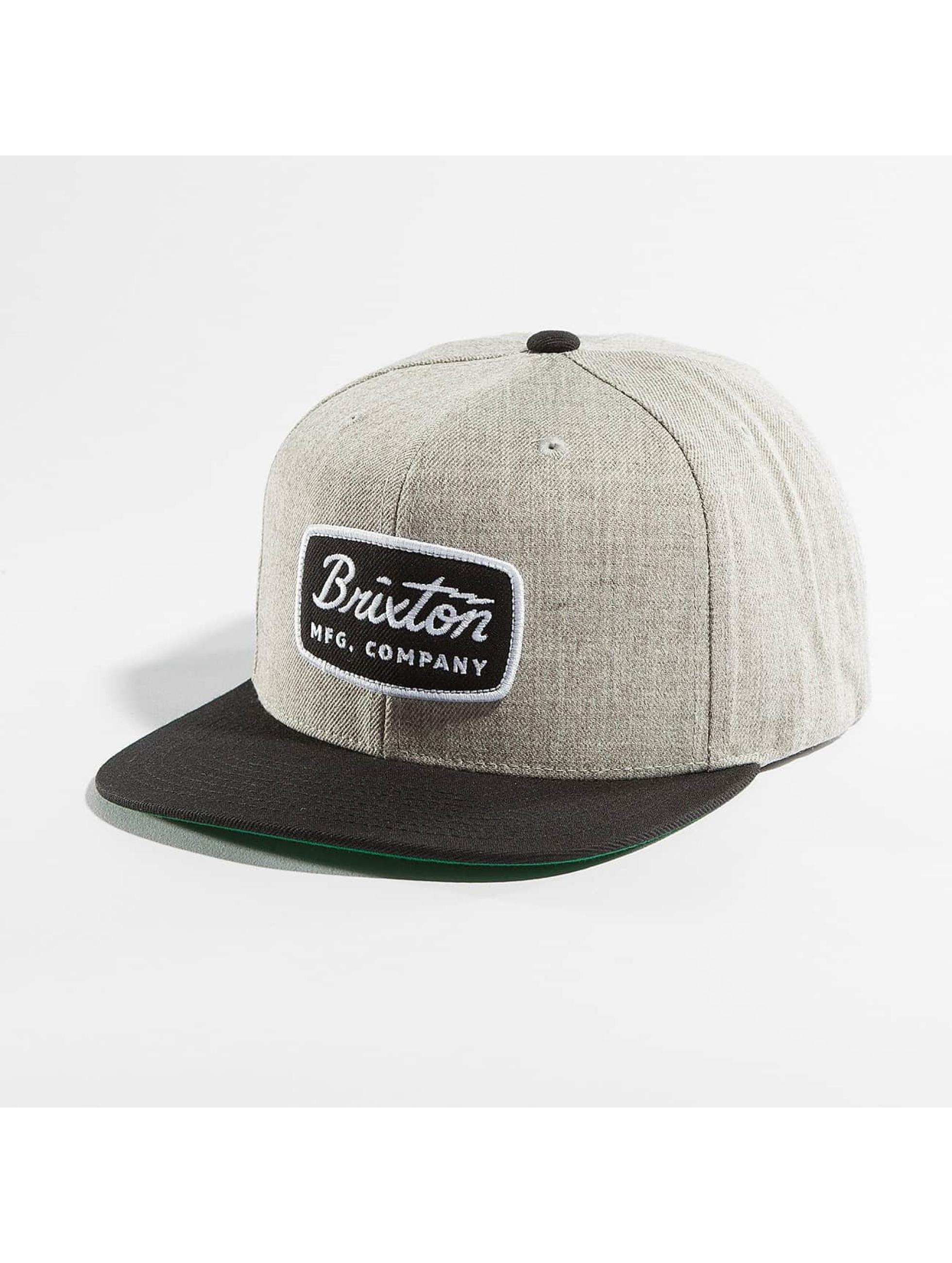 Brixton Snapback Caps Jolt szary