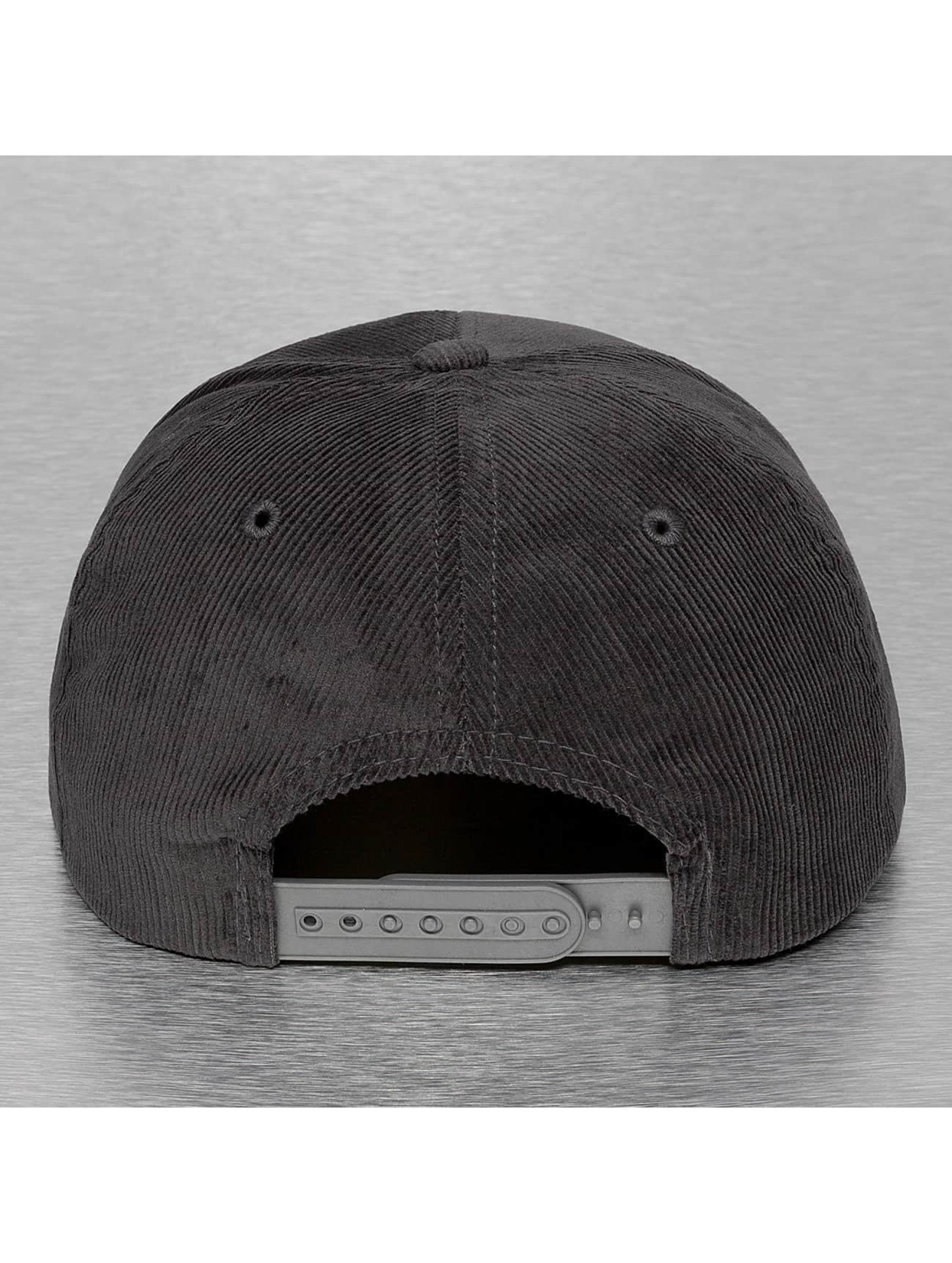 Cap Crony Кепка с застёжкой Corduroy серый