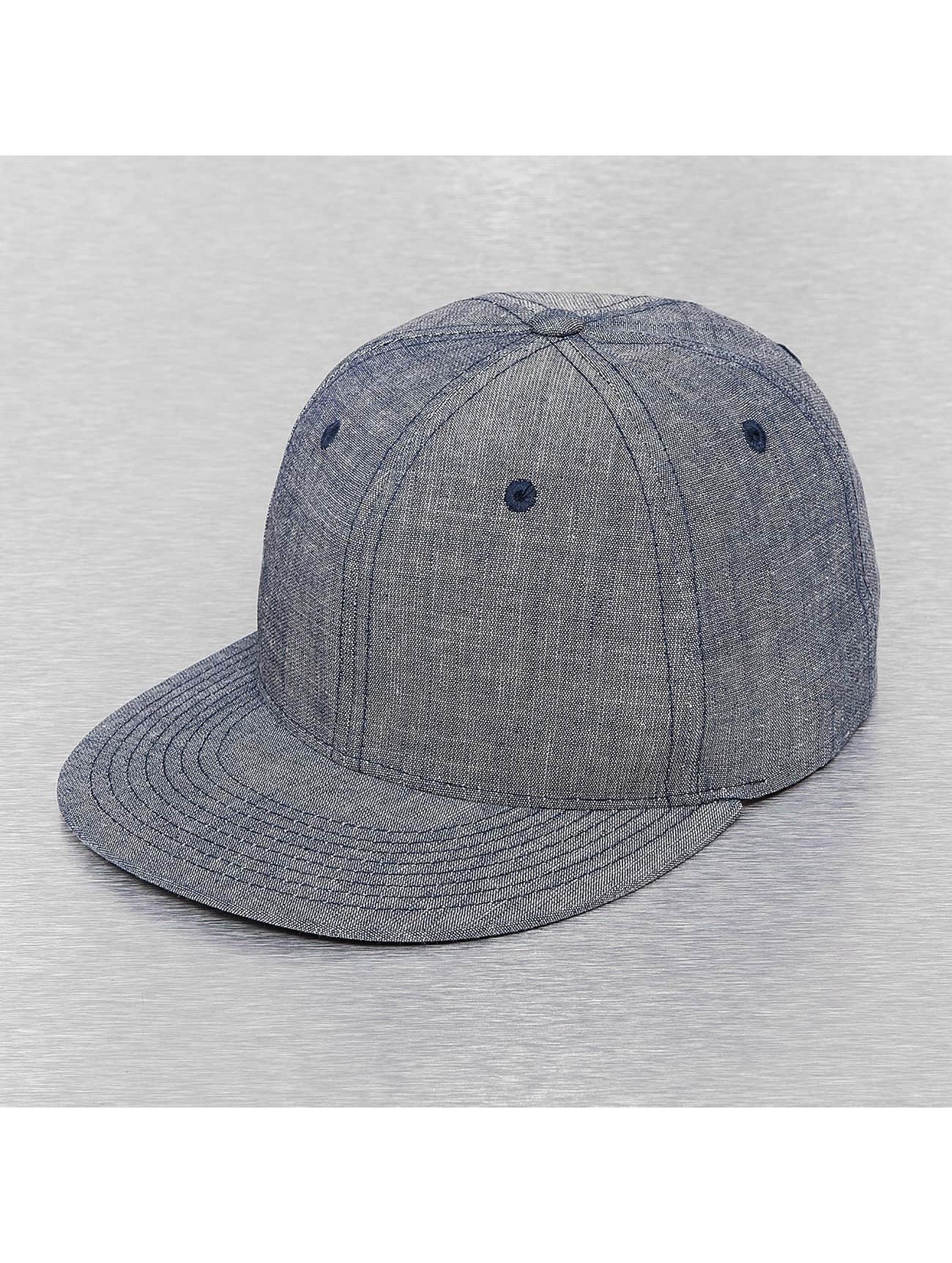 Cap Crony Кепка с застёжкой Washed Denim синий