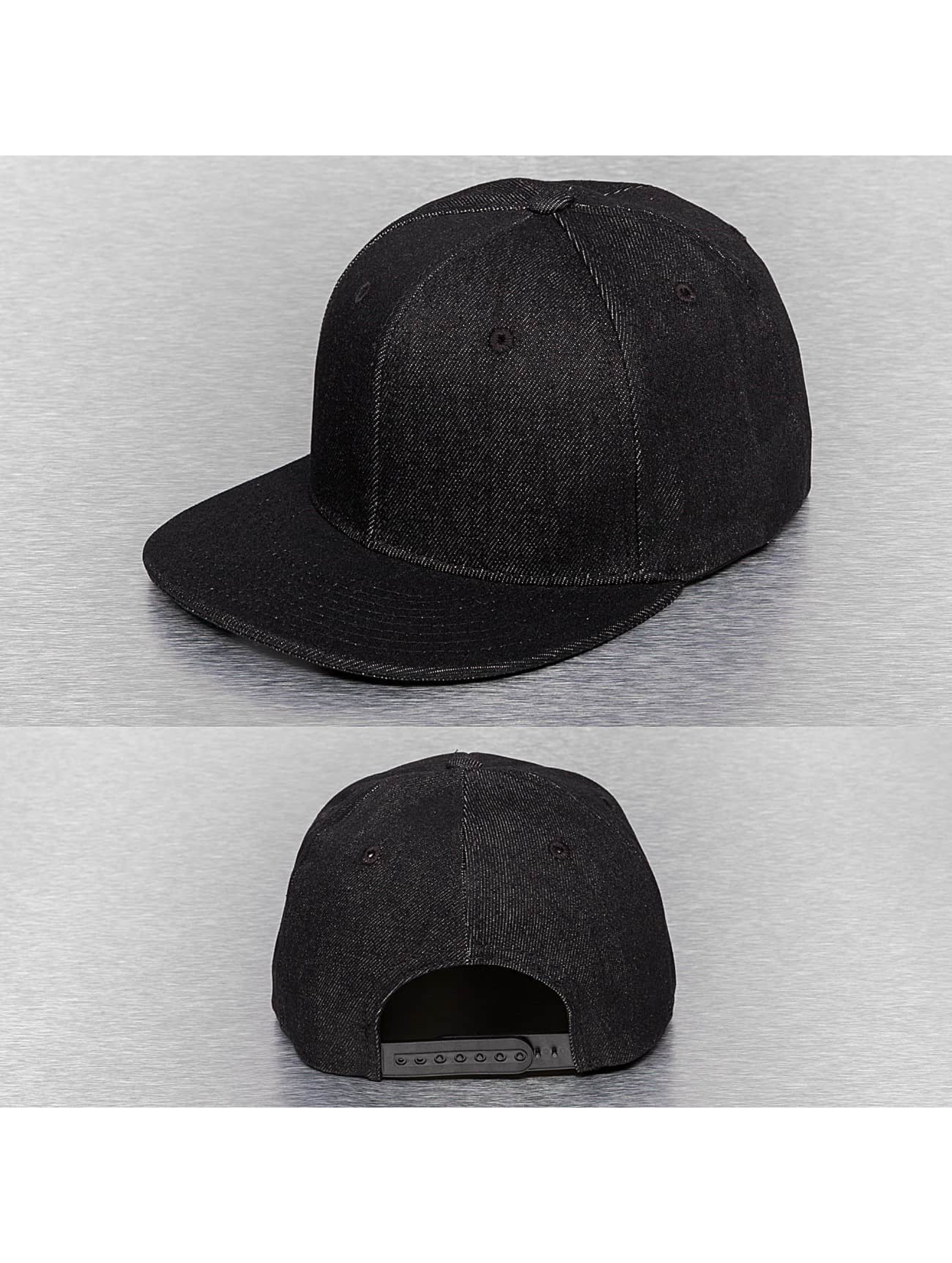 Cap Crony Кепка с застёжкой Denim черный