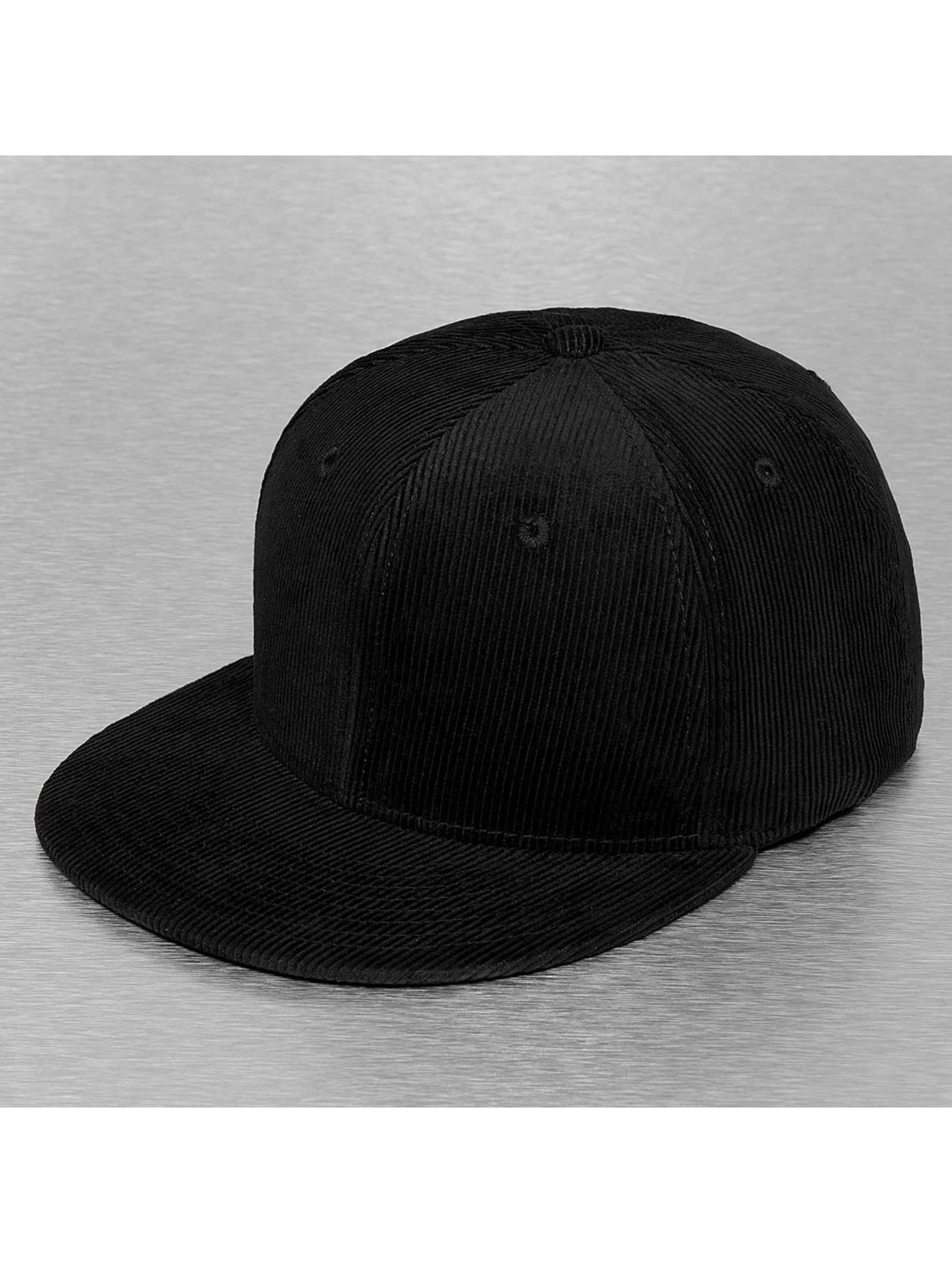 Cap Crony Кепка с застёжкой Corduroy черный