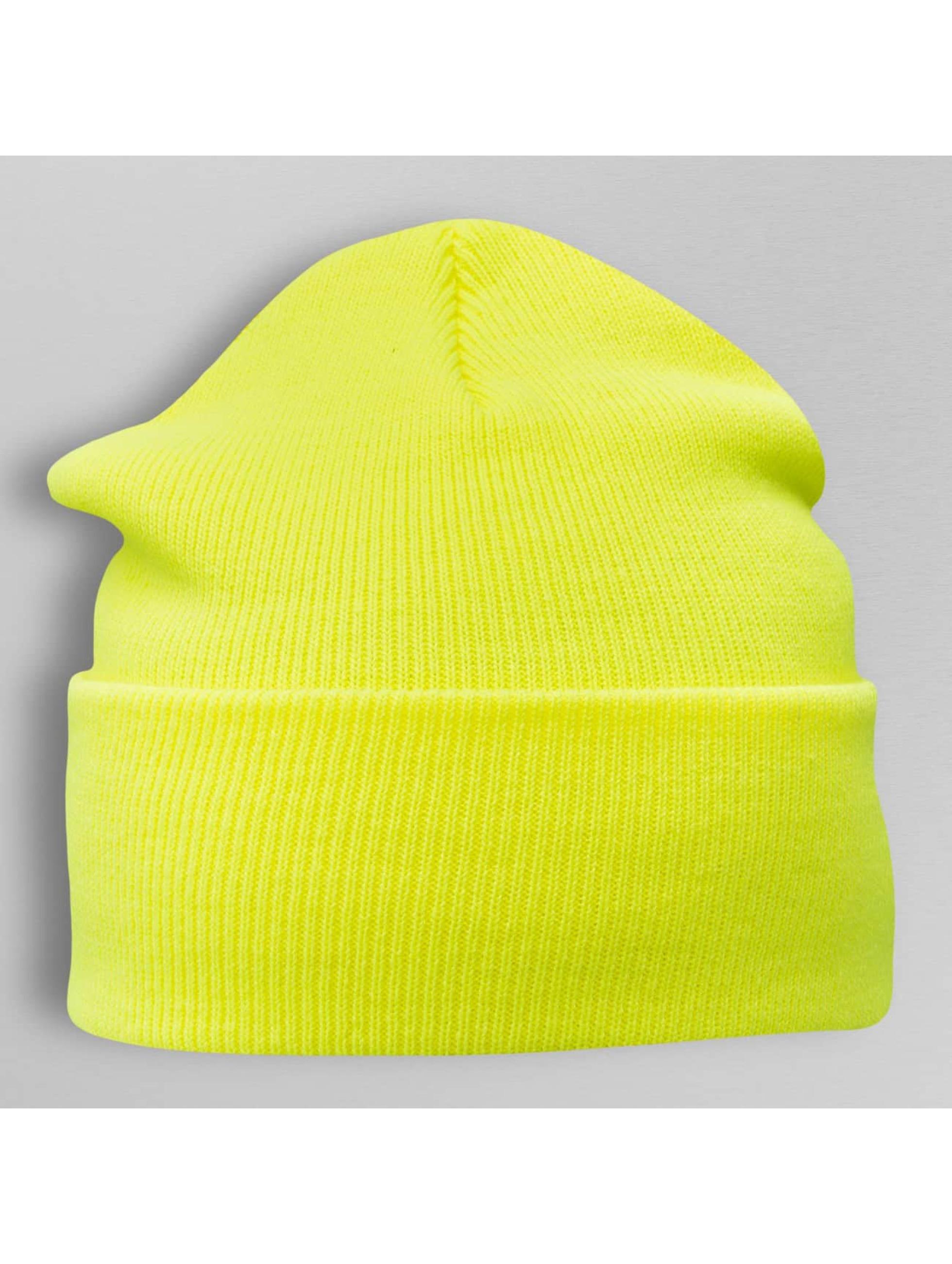 Cap Crony Beanie Neon Acrylic Long geel