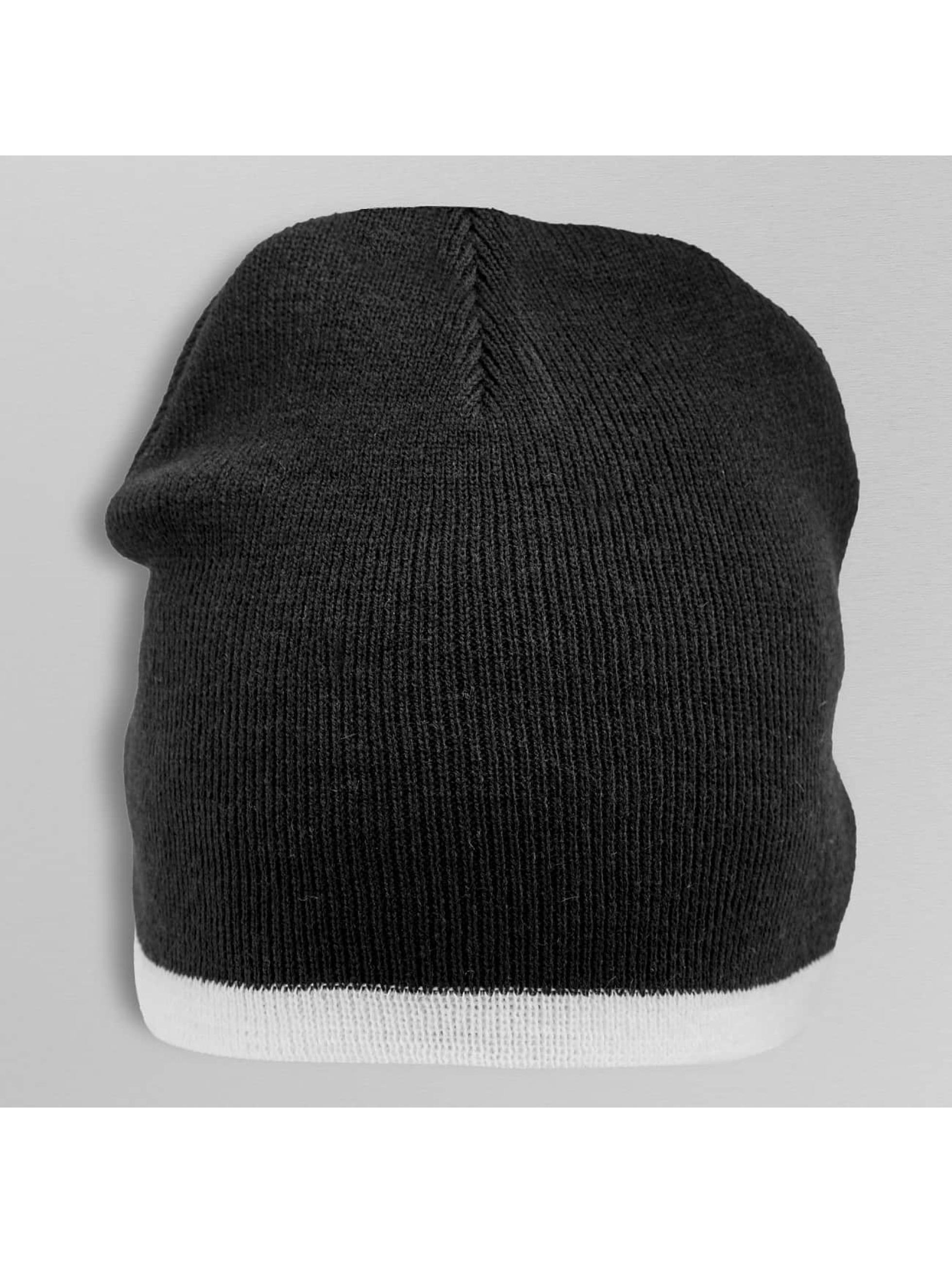 Cap Crony Beanie Single Striped zwart